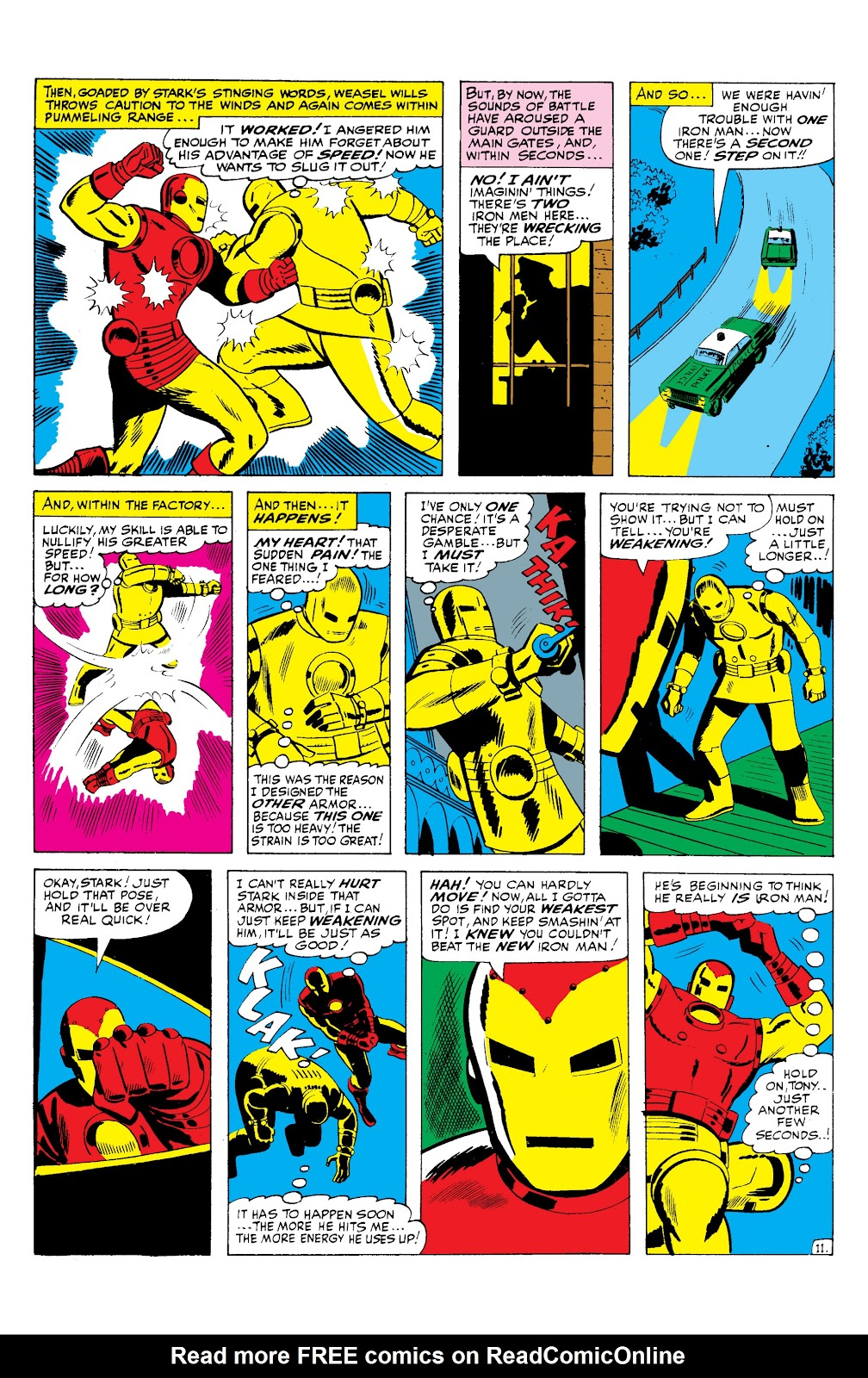 Read online Marvel Masterworks: The Invincible Iron Man comic -  Issue # TPB 2 (Part 3) - 39