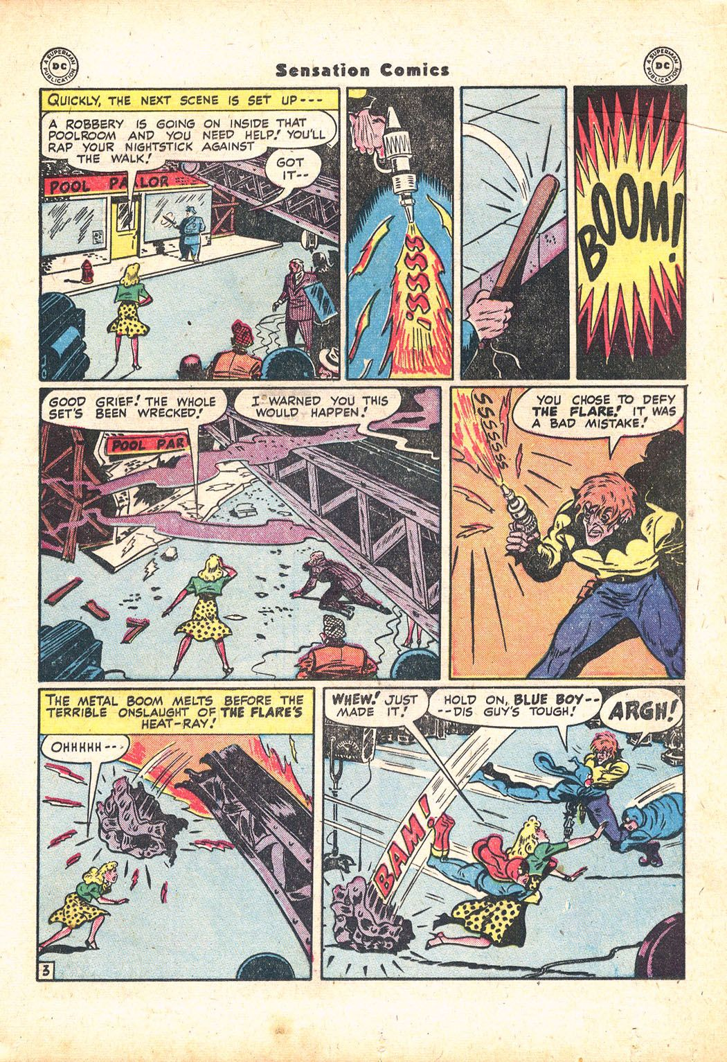 Read online Sensation (Mystery) Comics comic -  Issue #71 - 19