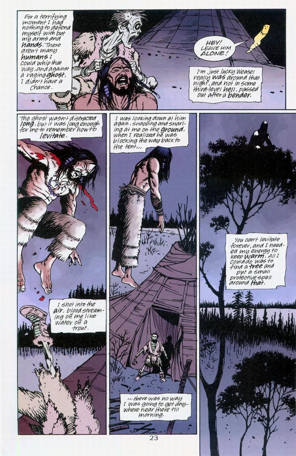 Muktuk Wolfsbreath: Hard-Boiled Shaman issue 1 - Page 23