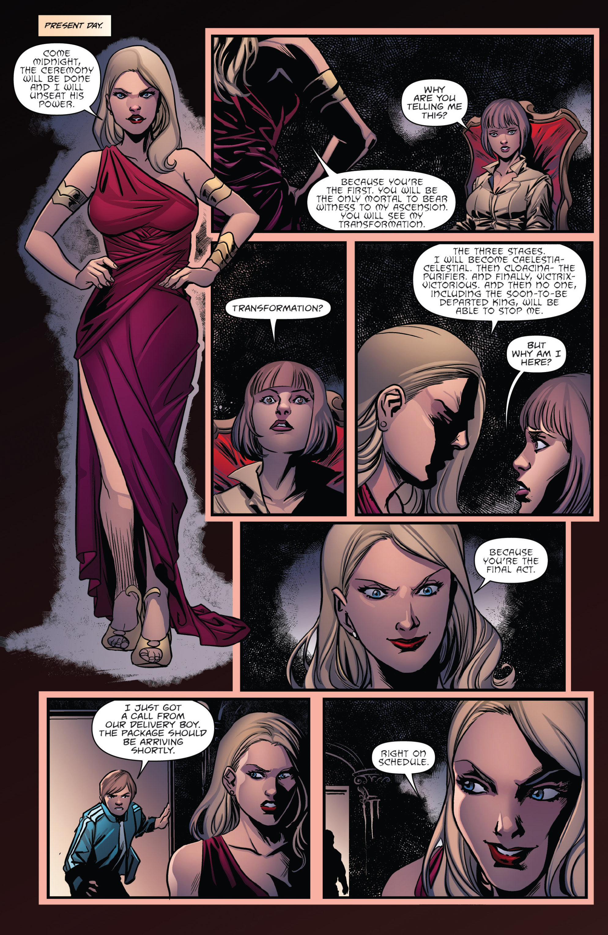 Read online Grimm Fairy Tales presents Goddess Inc. comic -  Issue #5 - 5