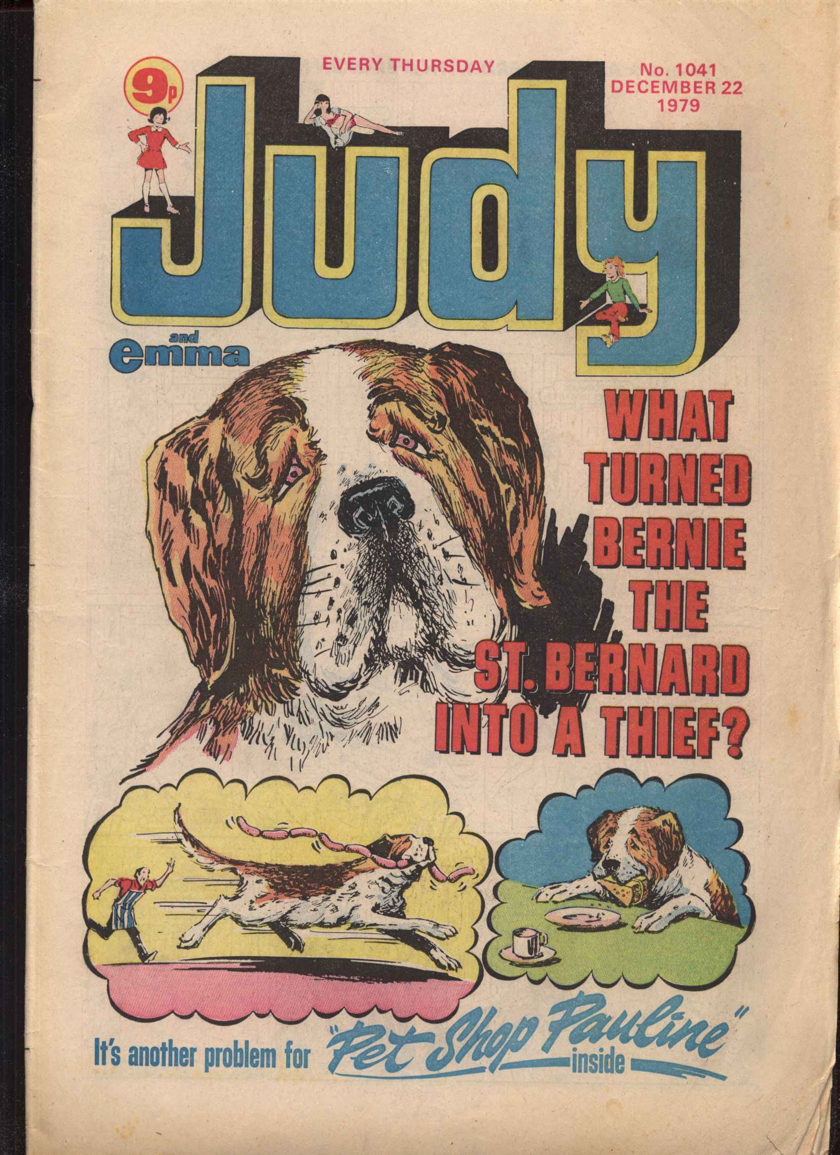 Read online Judy comic -  Issue #1041 - 1