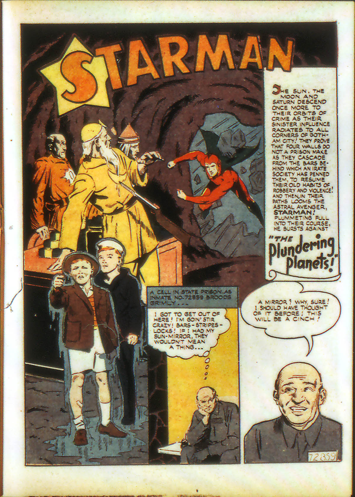Read online Adventure Comics (1938) comic -  Issue #89 - 29