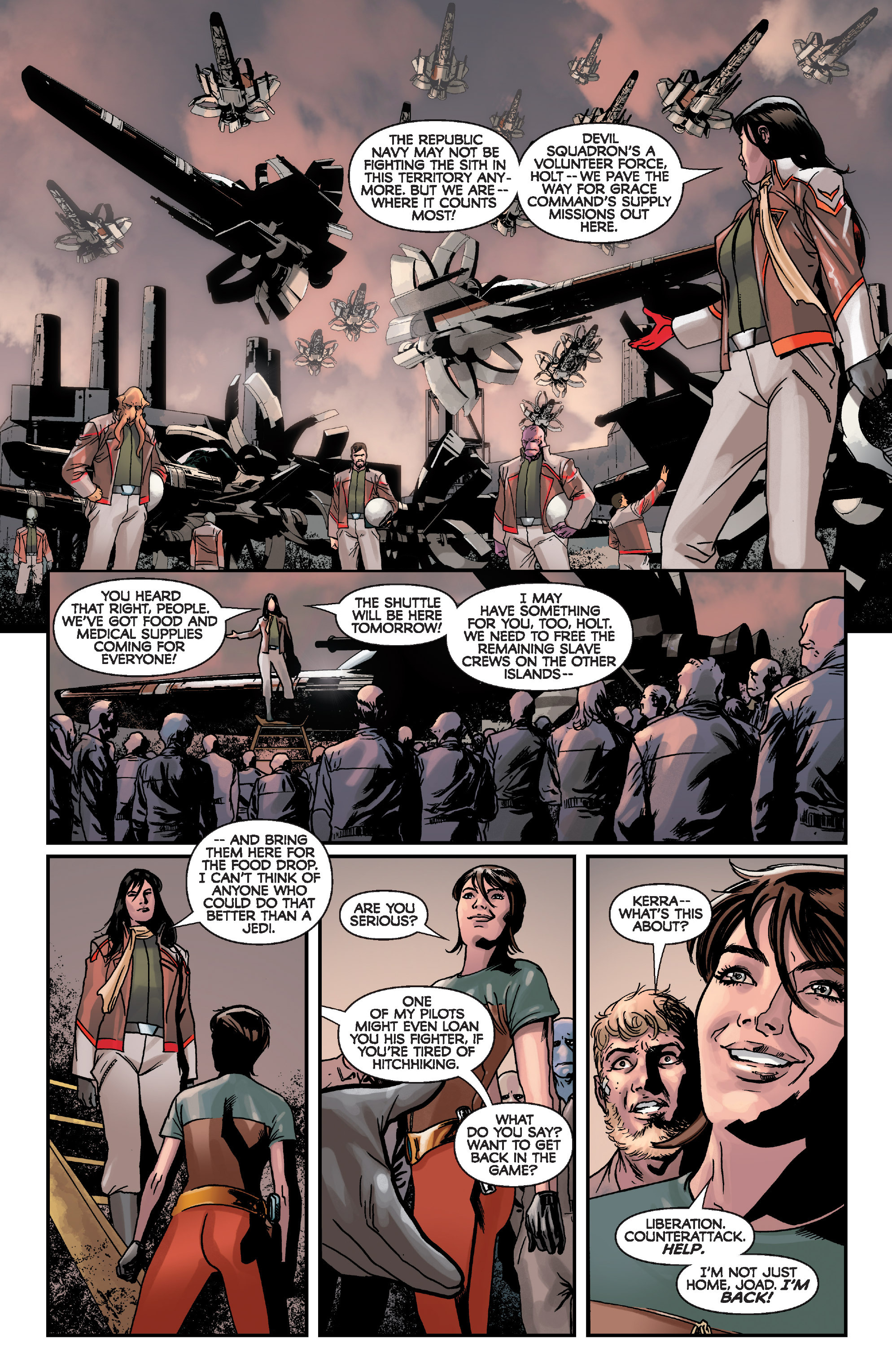 Read online Star Wars: Knight Errant - Deluge comic -  Issue #1 - 21