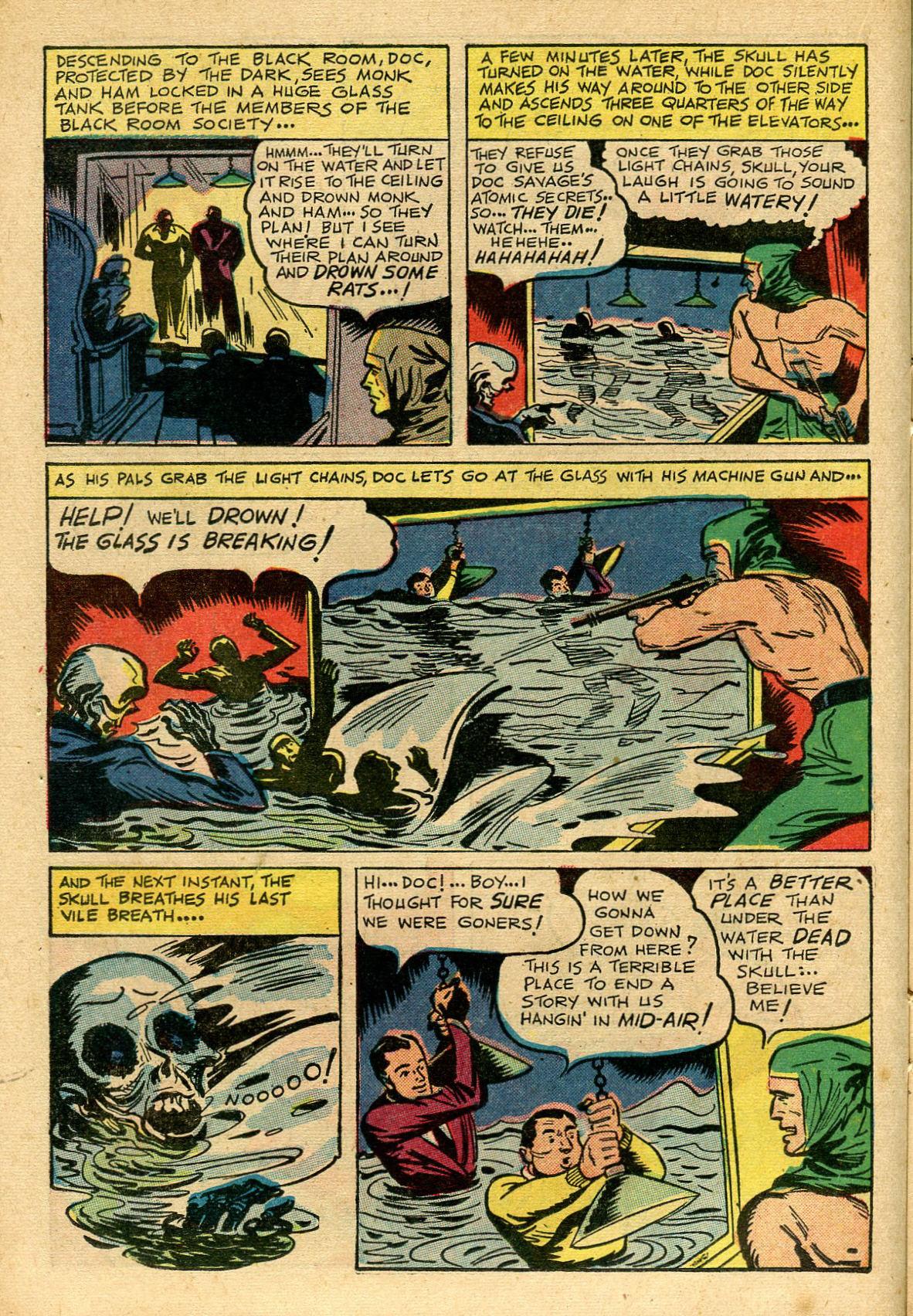 Read online Shadow Comics comic -  Issue #69 - 22
