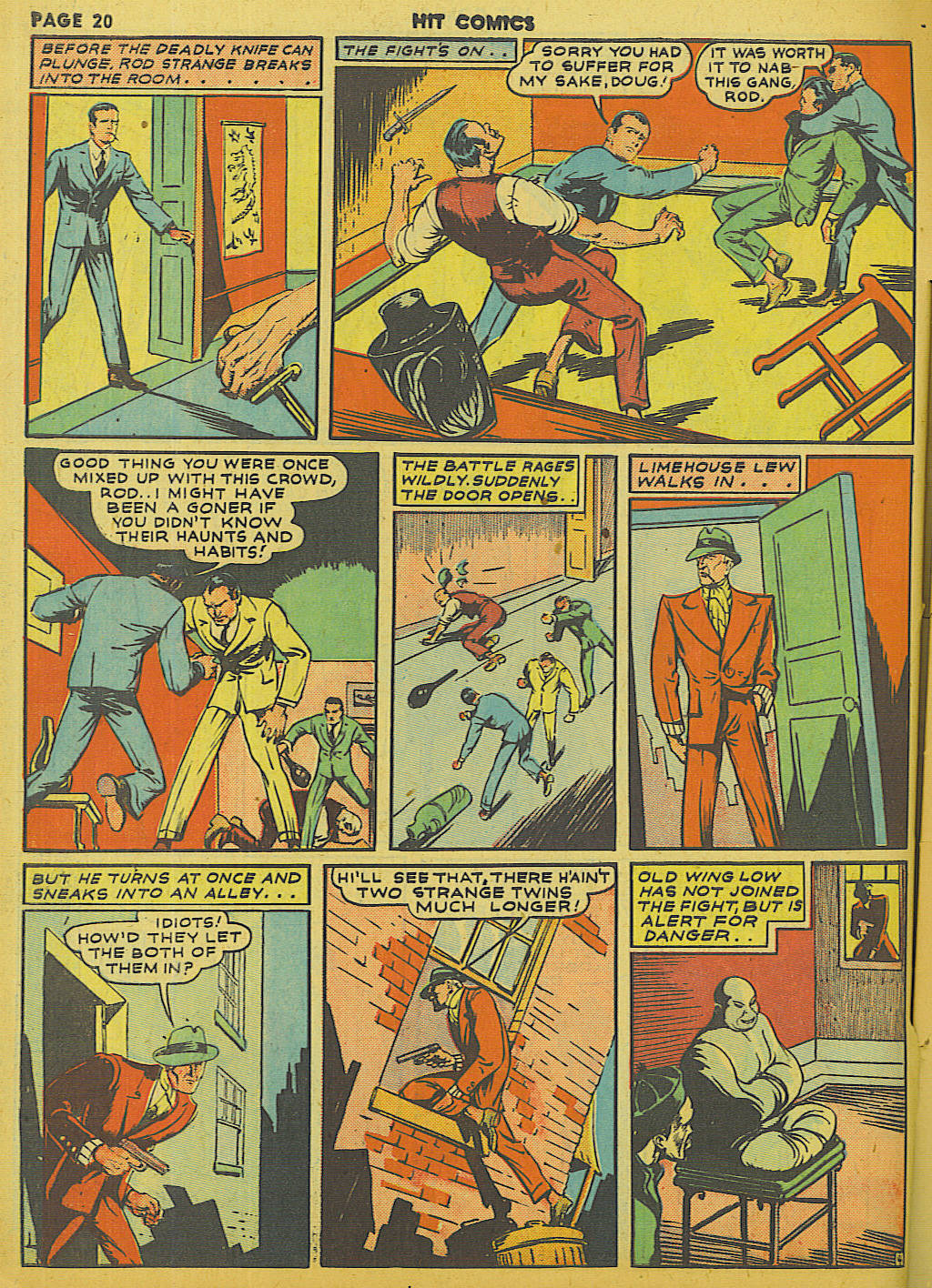 Read online Hit Comics comic -  Issue #13 - 22