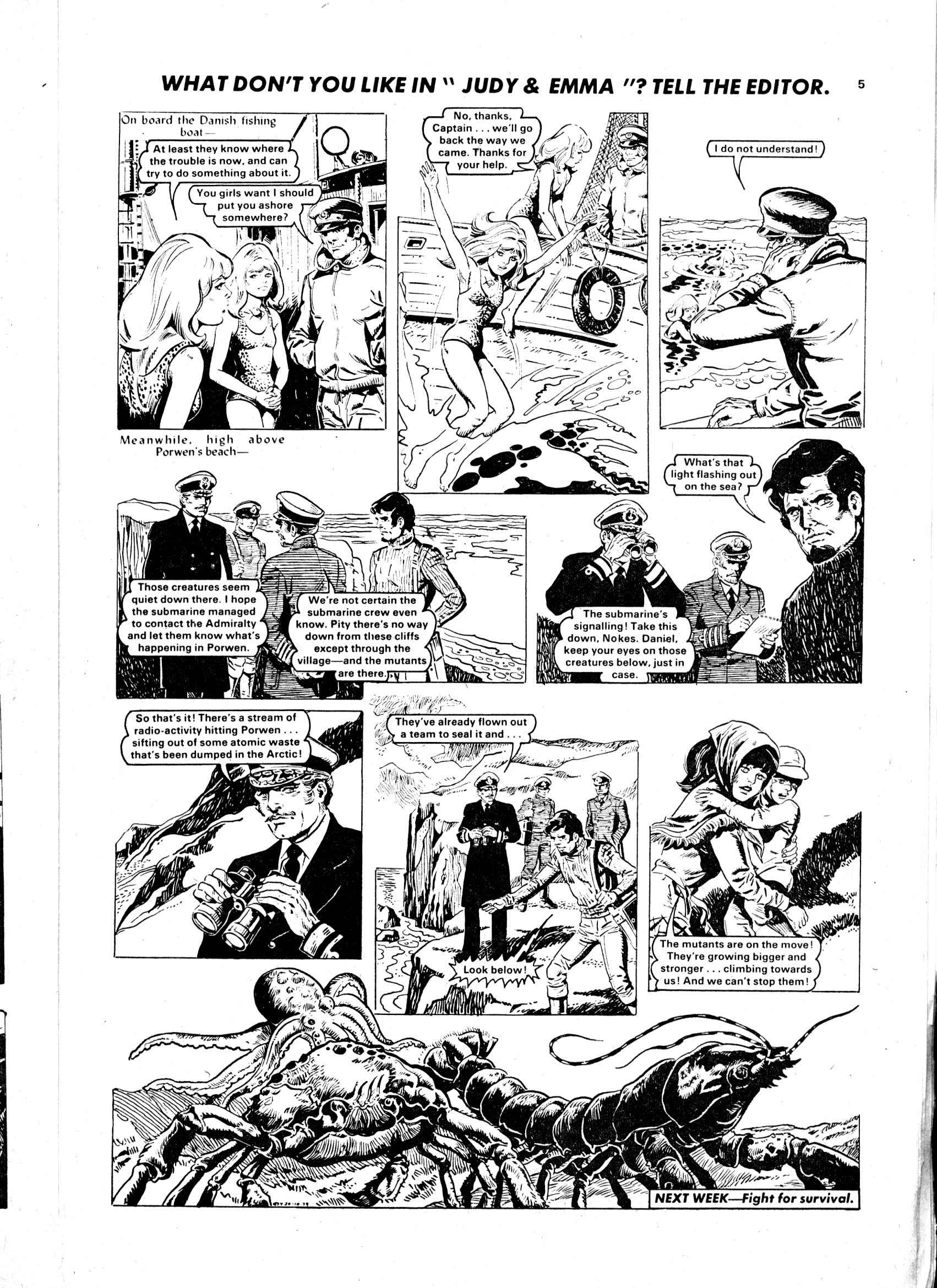 Read online Judy comic -  Issue #1032 - 5