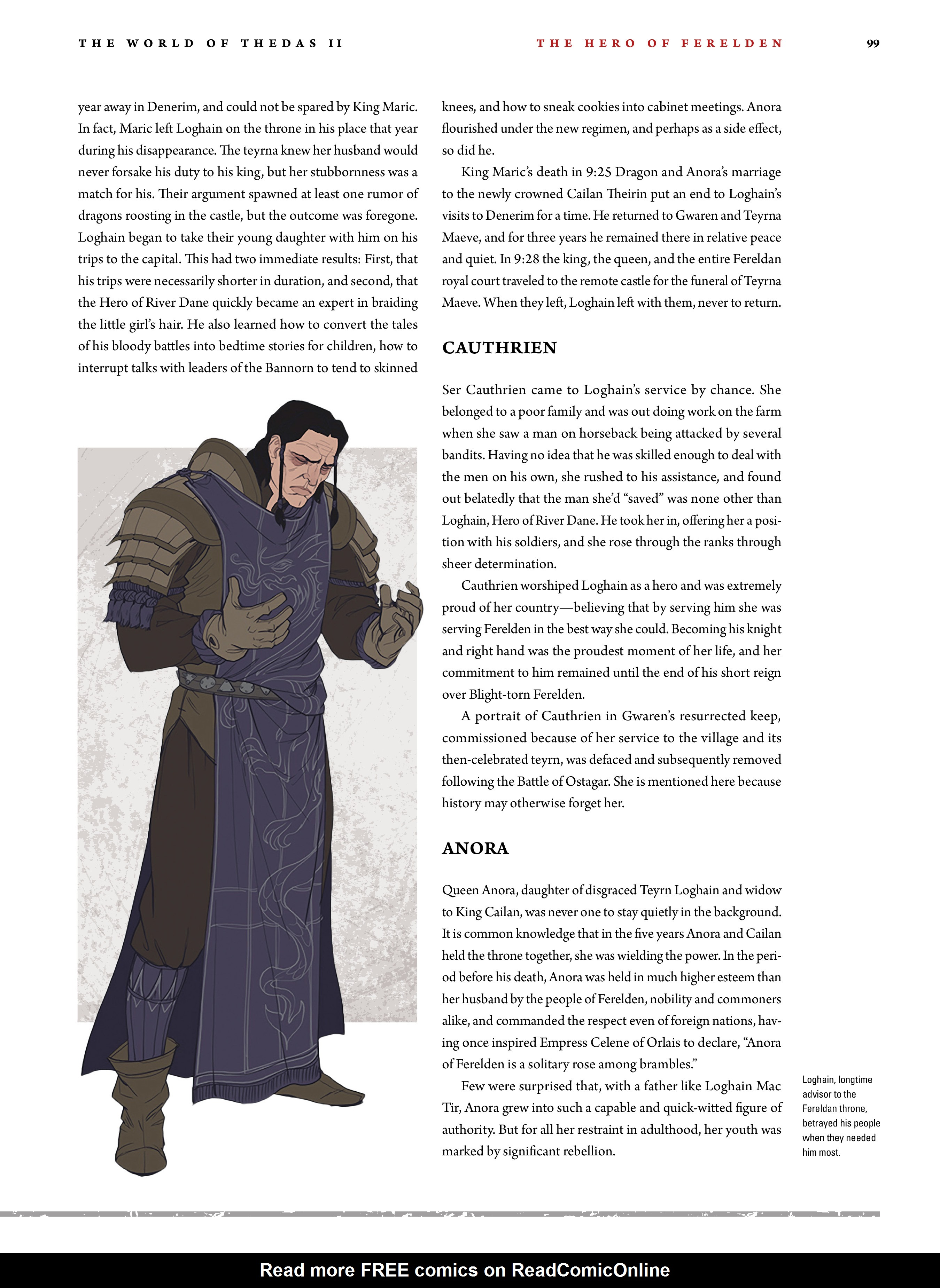Read online Dragon Age: The World of Thedas comic -  Issue # TPB 2 - 95