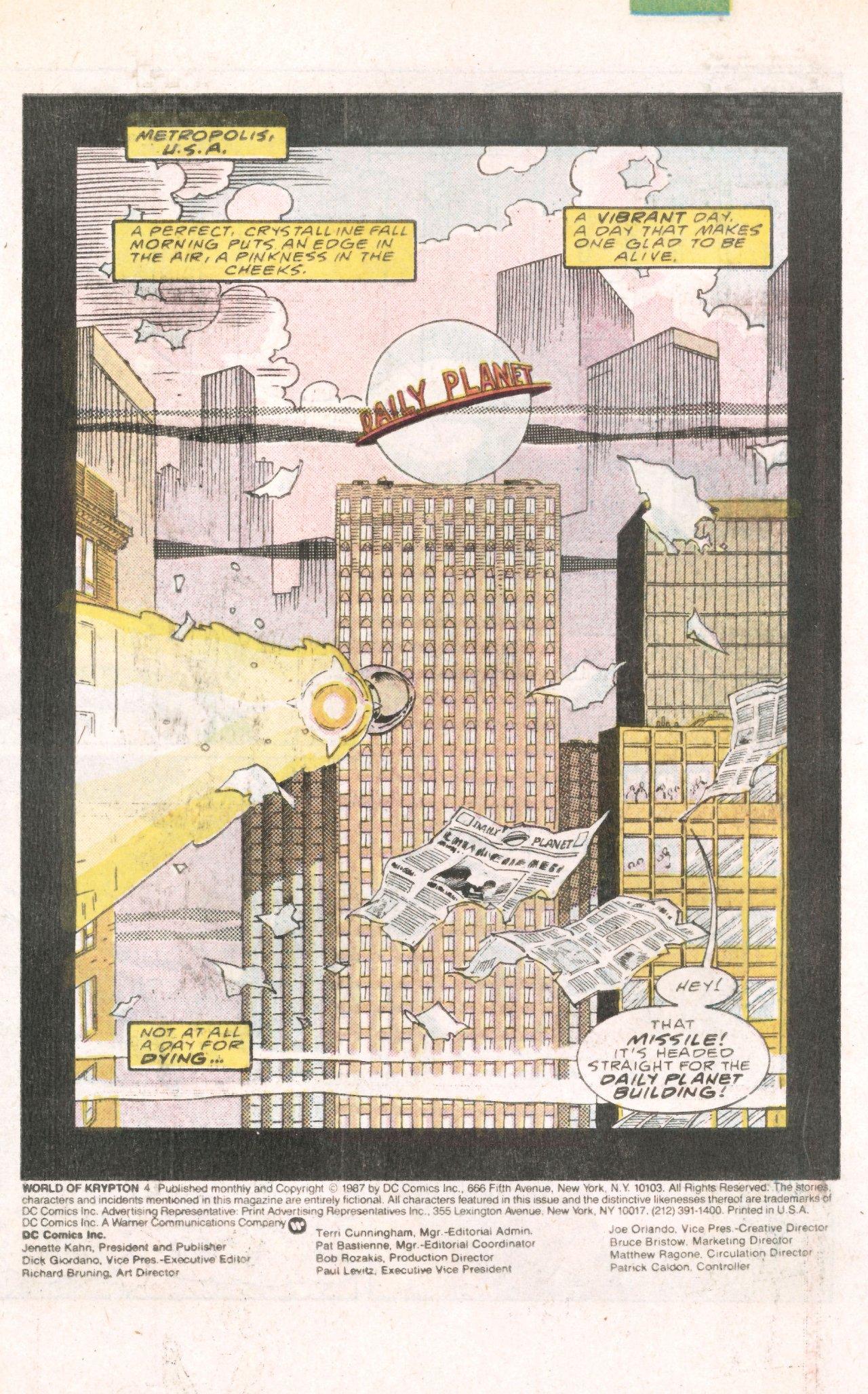 Read online World of Krypton comic -  Issue #4 - 4