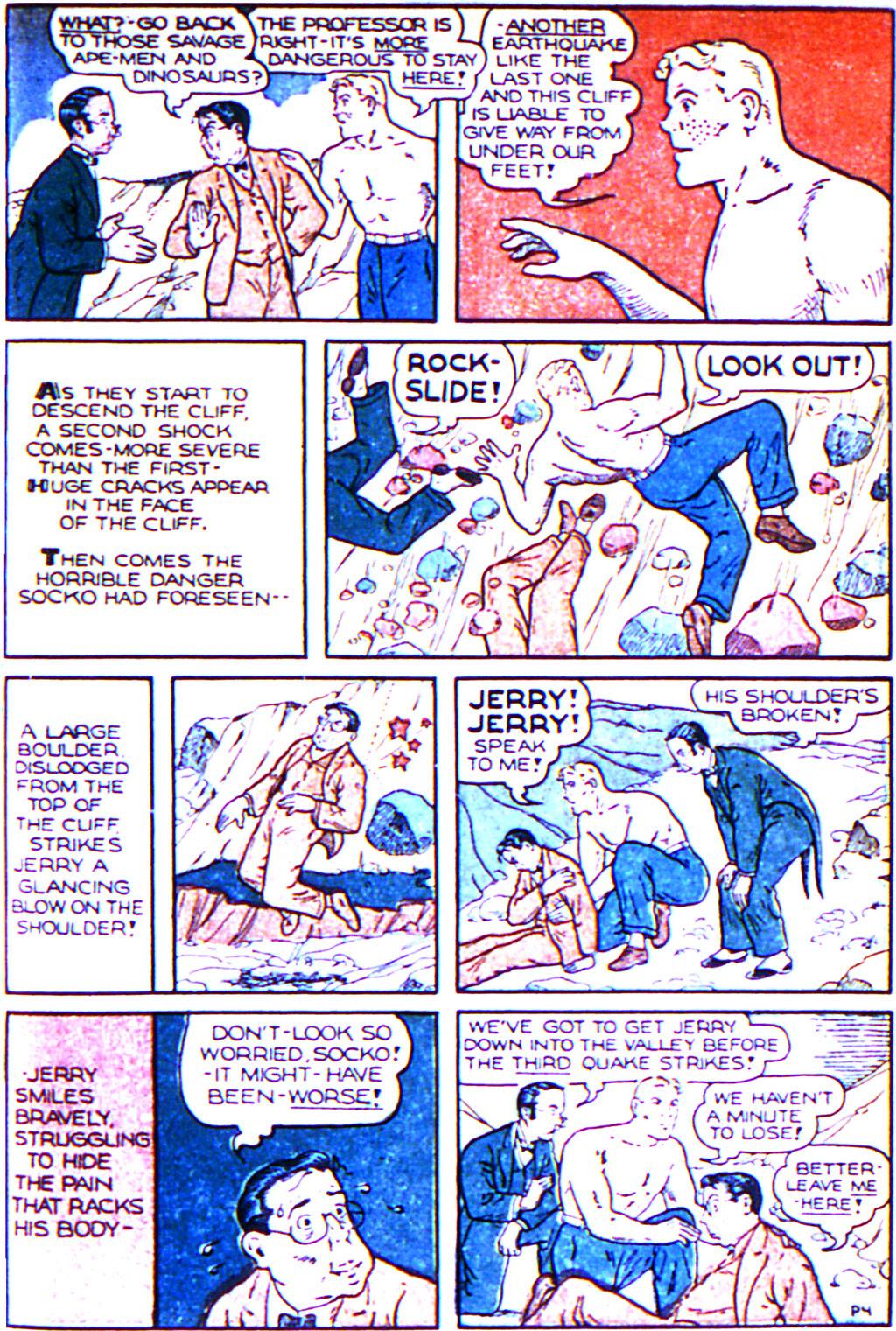 Read online Adventure Comics (1938) comic -  Issue #43 - 31