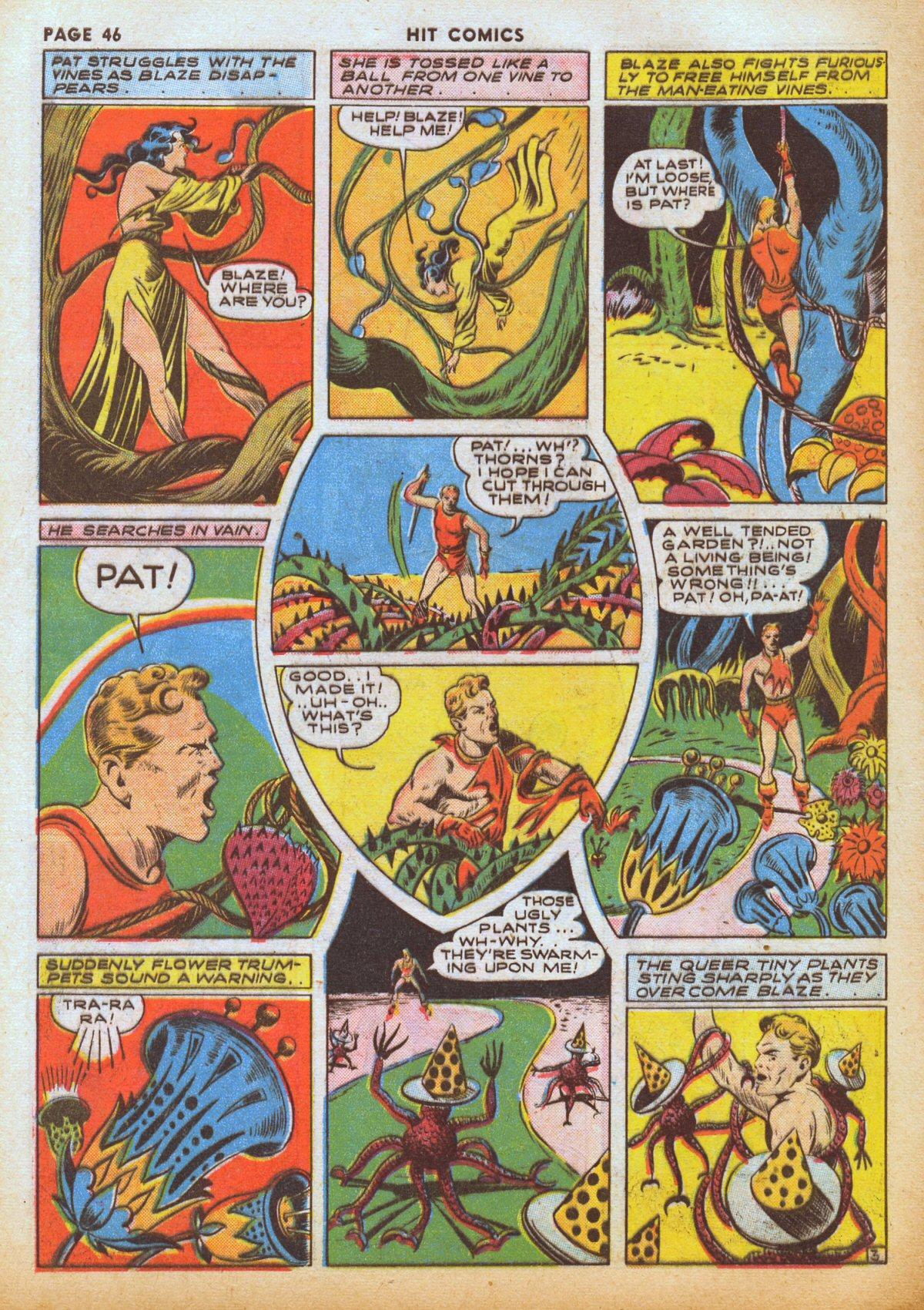 Read online Hit Comics comic -  Issue #12 - 48