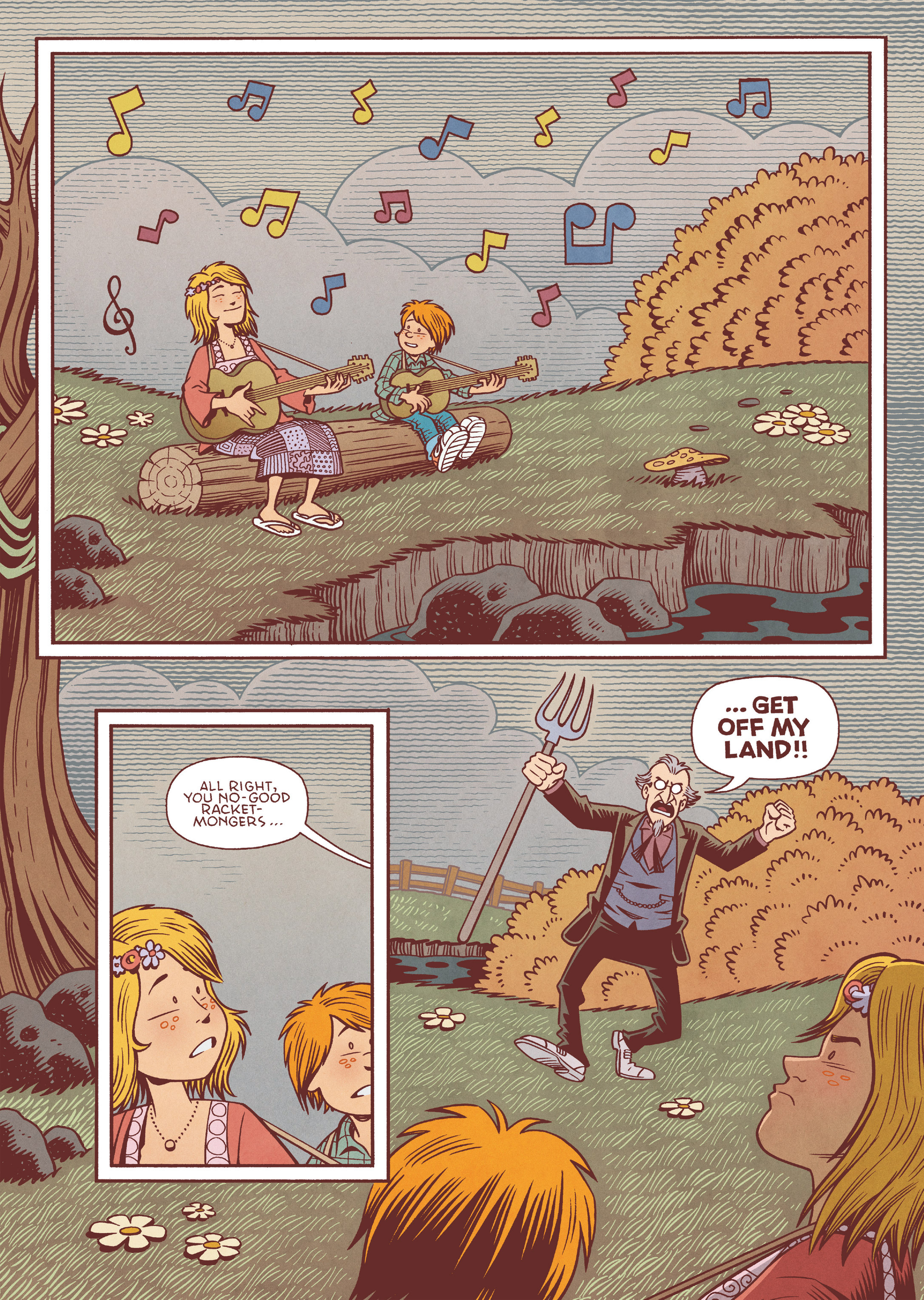 Read online Jim Henson's The Musical Monsters of Turkey Hollow comic -  Issue # Full - 17