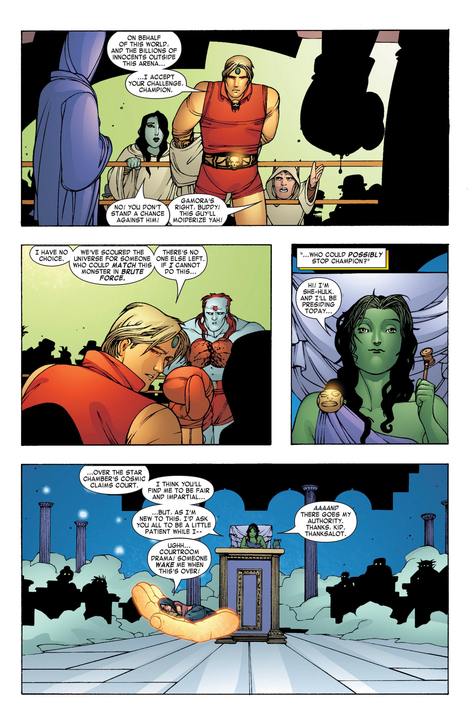Read online She-Hulk (2004) comic -  Issue #7 - 15