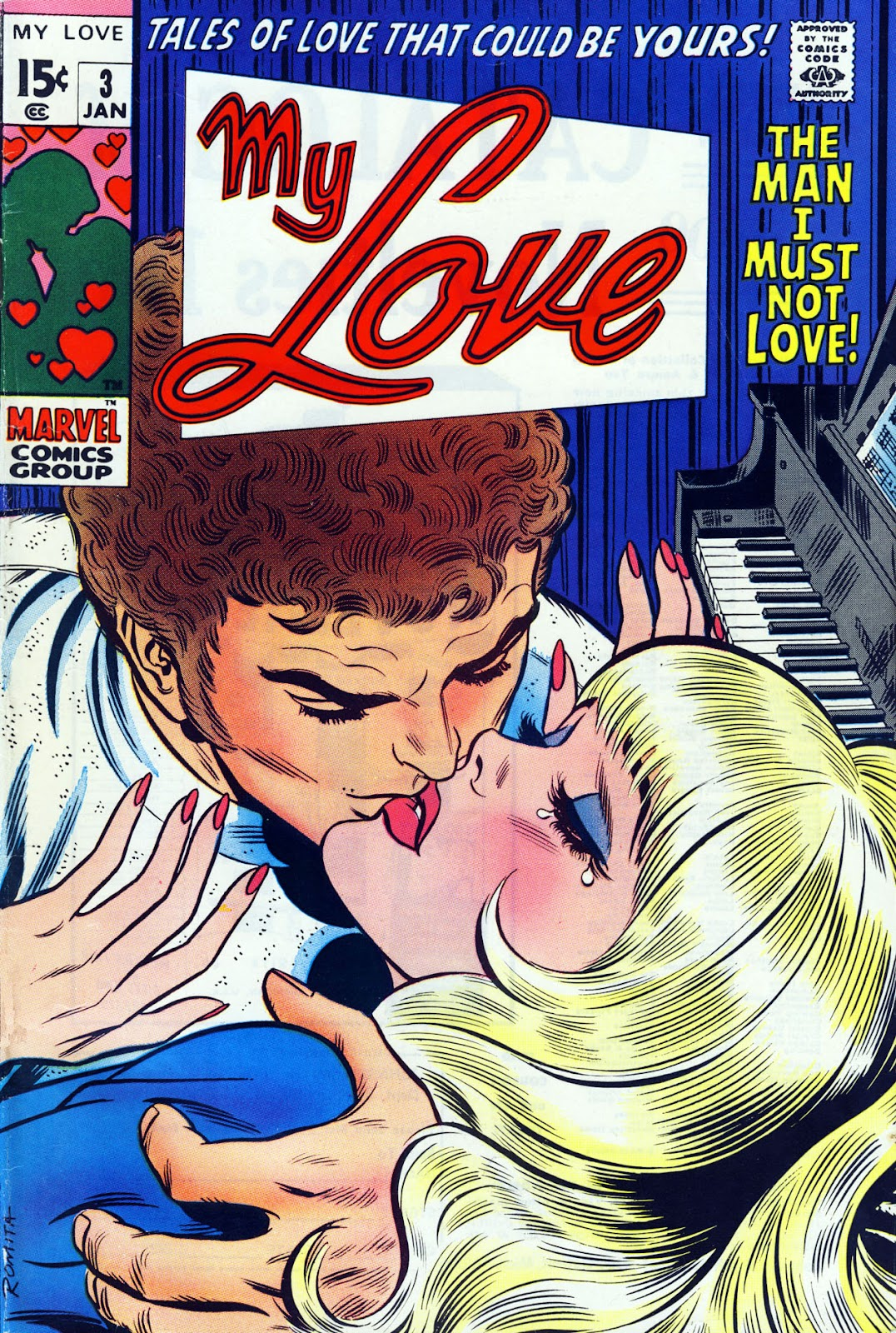 My Love (1969) issue 3 - Page 1