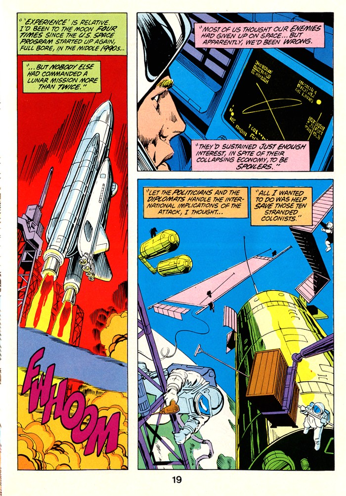 Read online Atari Force (1982) comic -  Issue #1 - 21