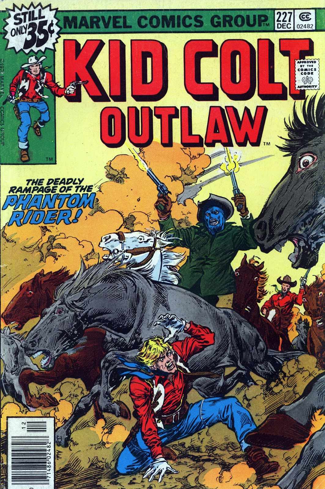 Kid Colt Outlaw issue 227 - Page 1