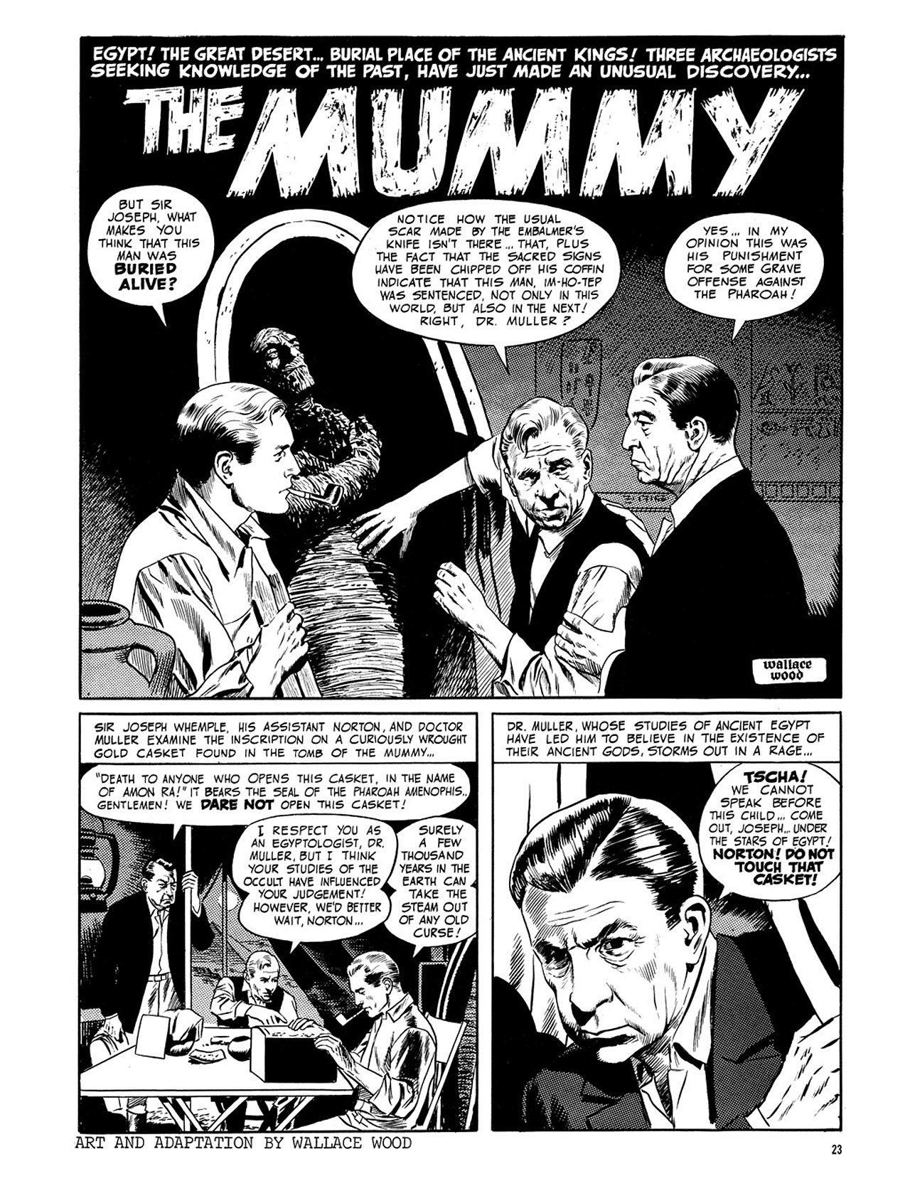 Read online Eerie Archives comic -  Issue # TPB 3 - 24