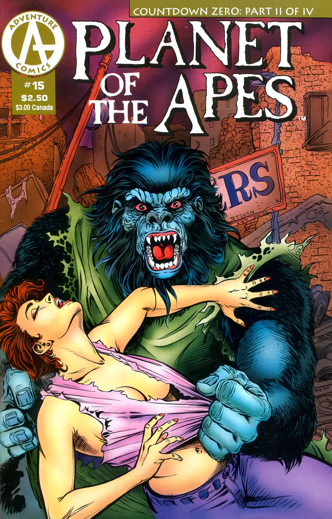 Planet of the Apes (1990) 15 Page 1