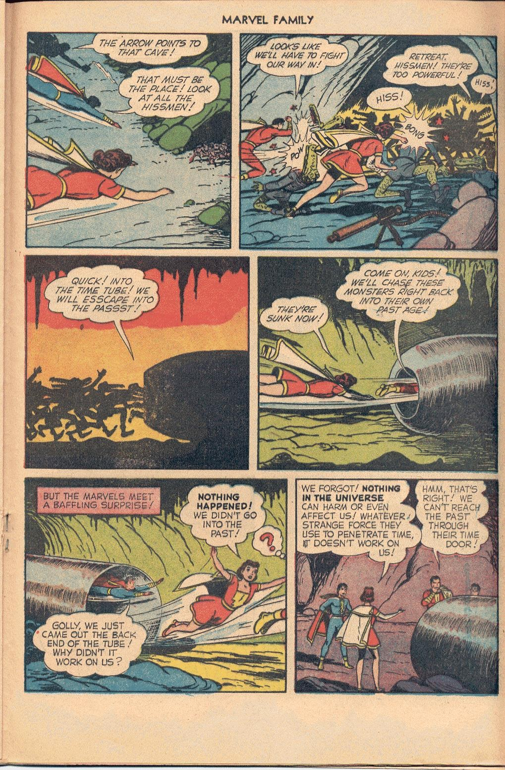 The Marvel Family issue 74 - Page 21