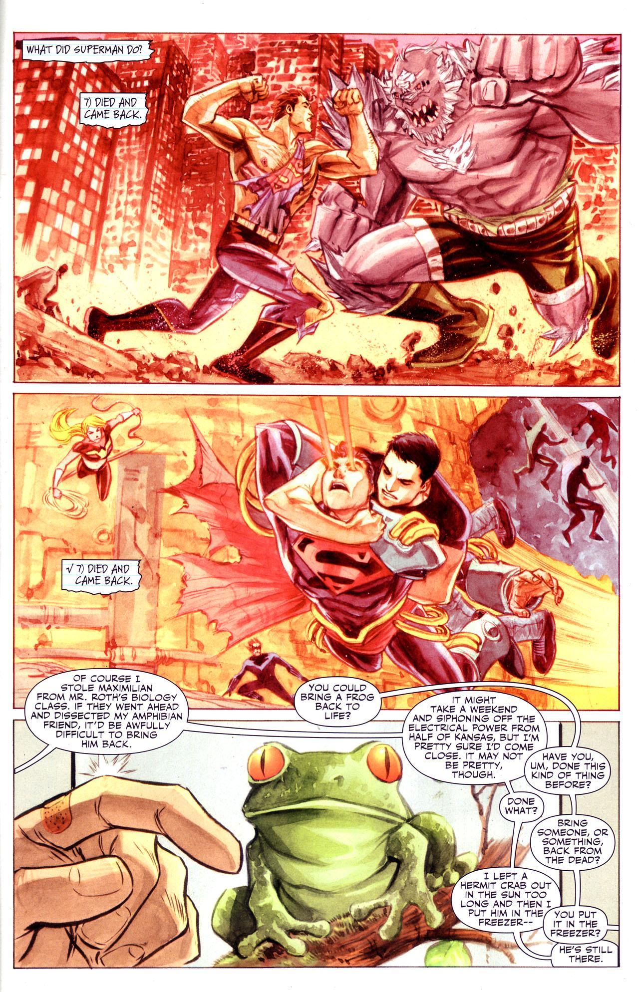 Read online Adventure Comics (2009) comic -  Issue #3 - 2