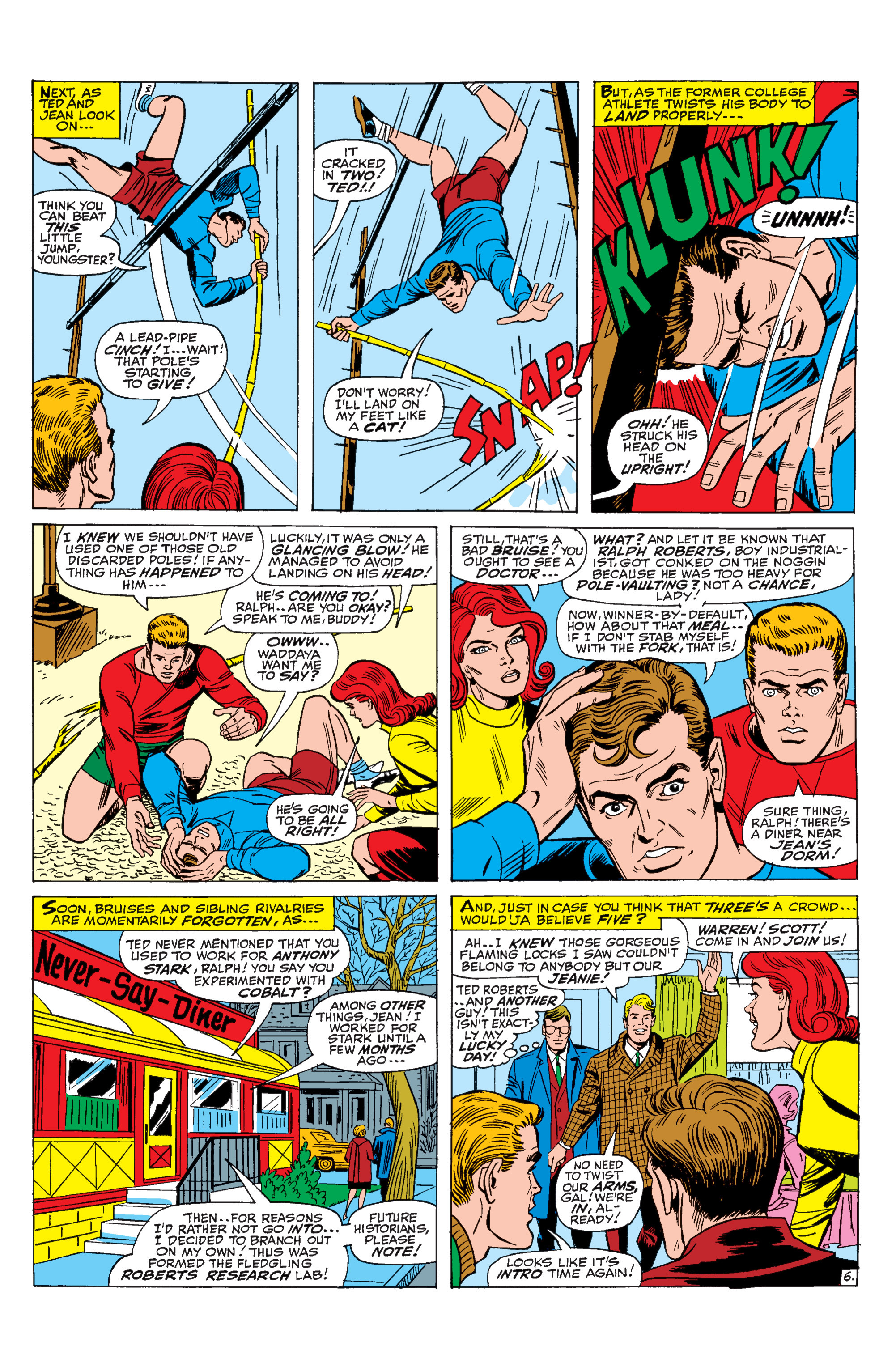Read online Uncanny X-Men (1963) comic -  Issue #31 - 7
