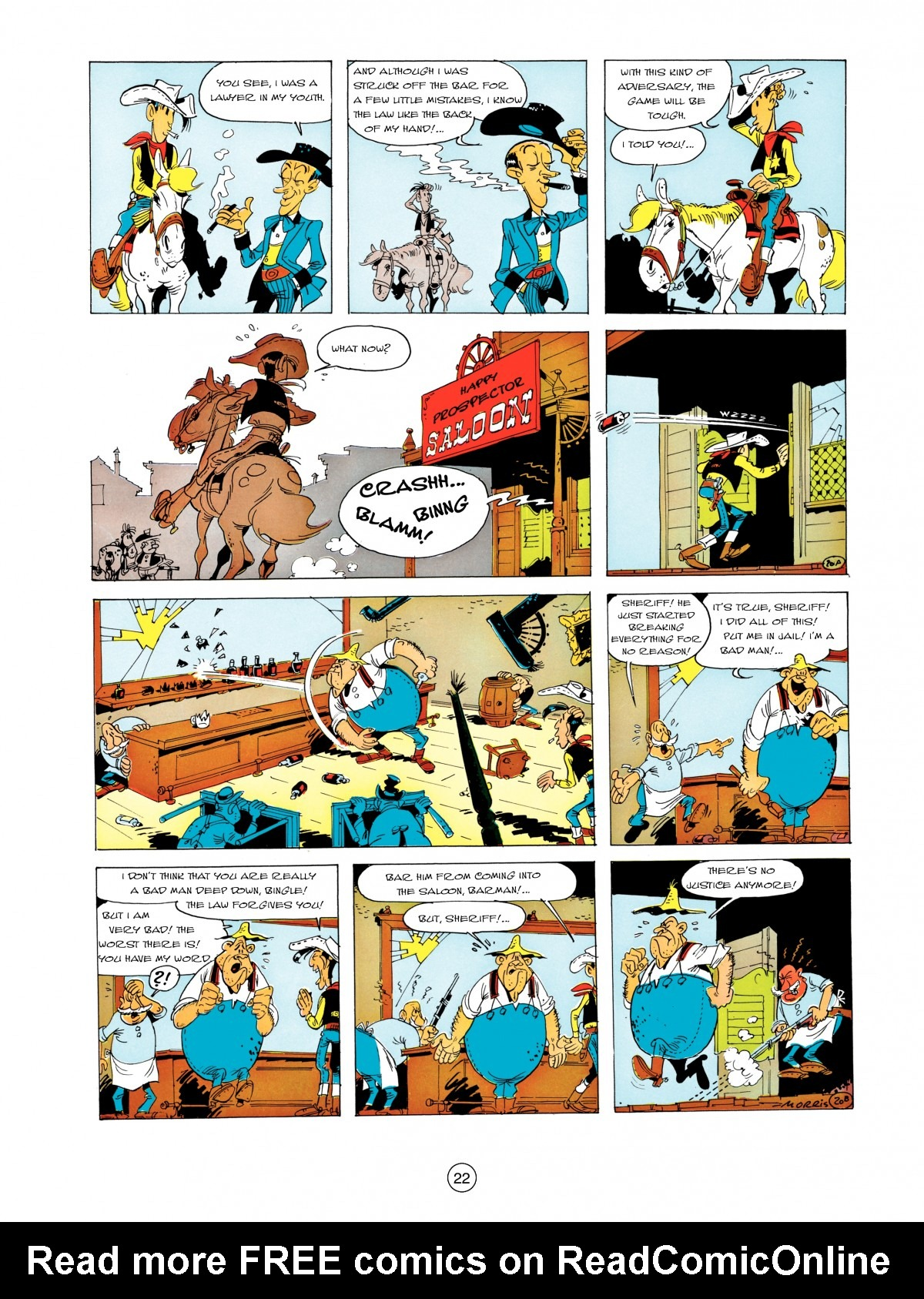 A Lucky Luke Adventure 5 Page 23