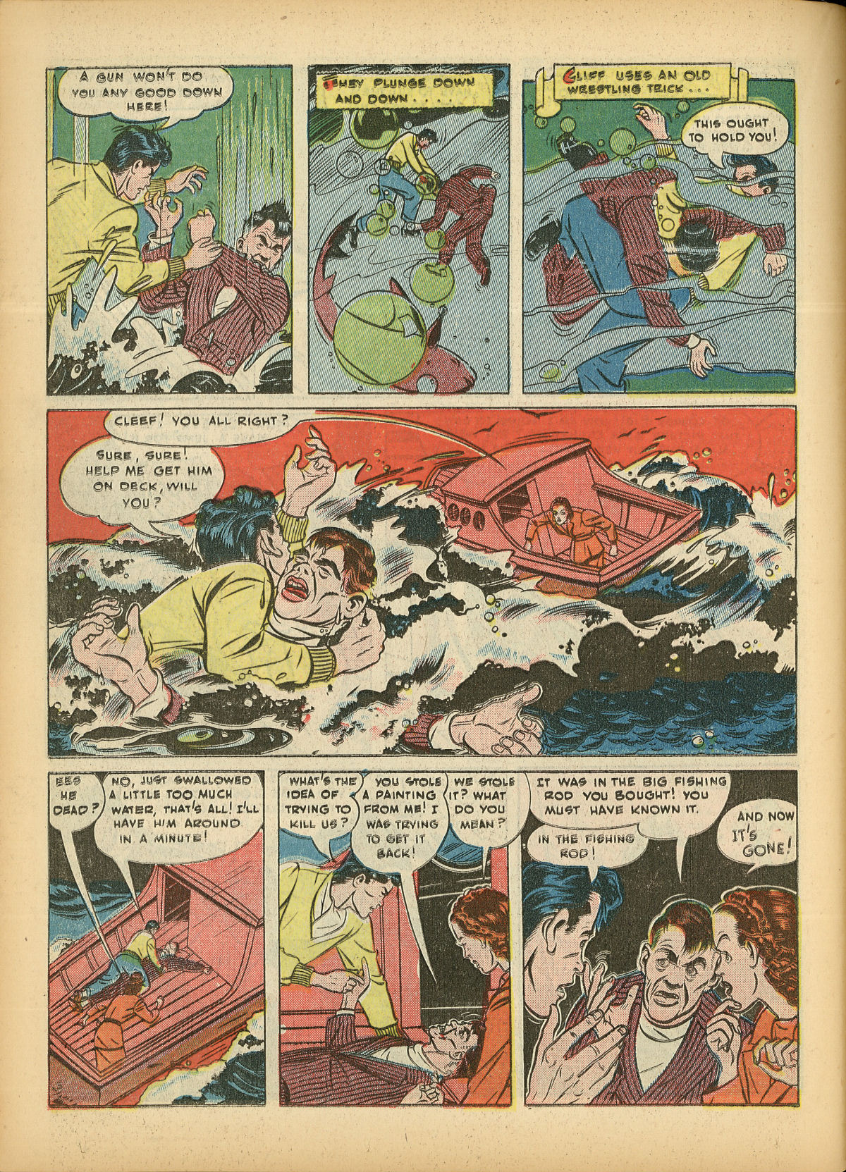 Read online Detective Comics (1937) comic -  Issue #55 - 48