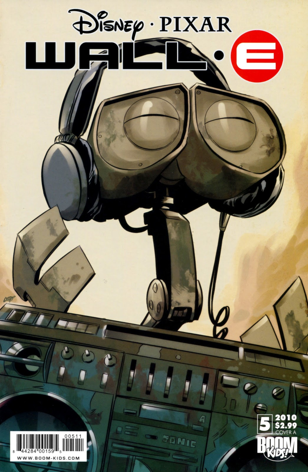 WALL•E (2009) issue 5 - Page 1