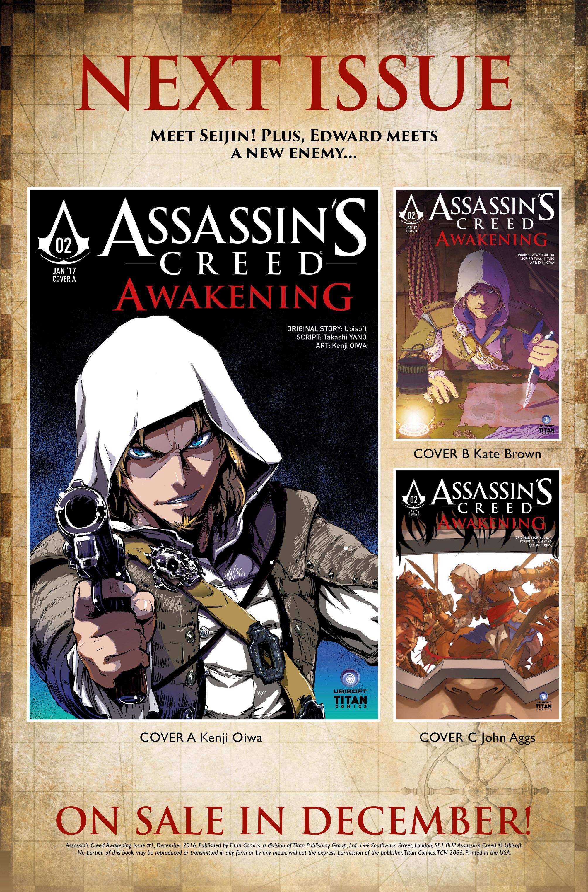 Read online Assassin's Creed: Awakening comic -  Issue #1 - 38