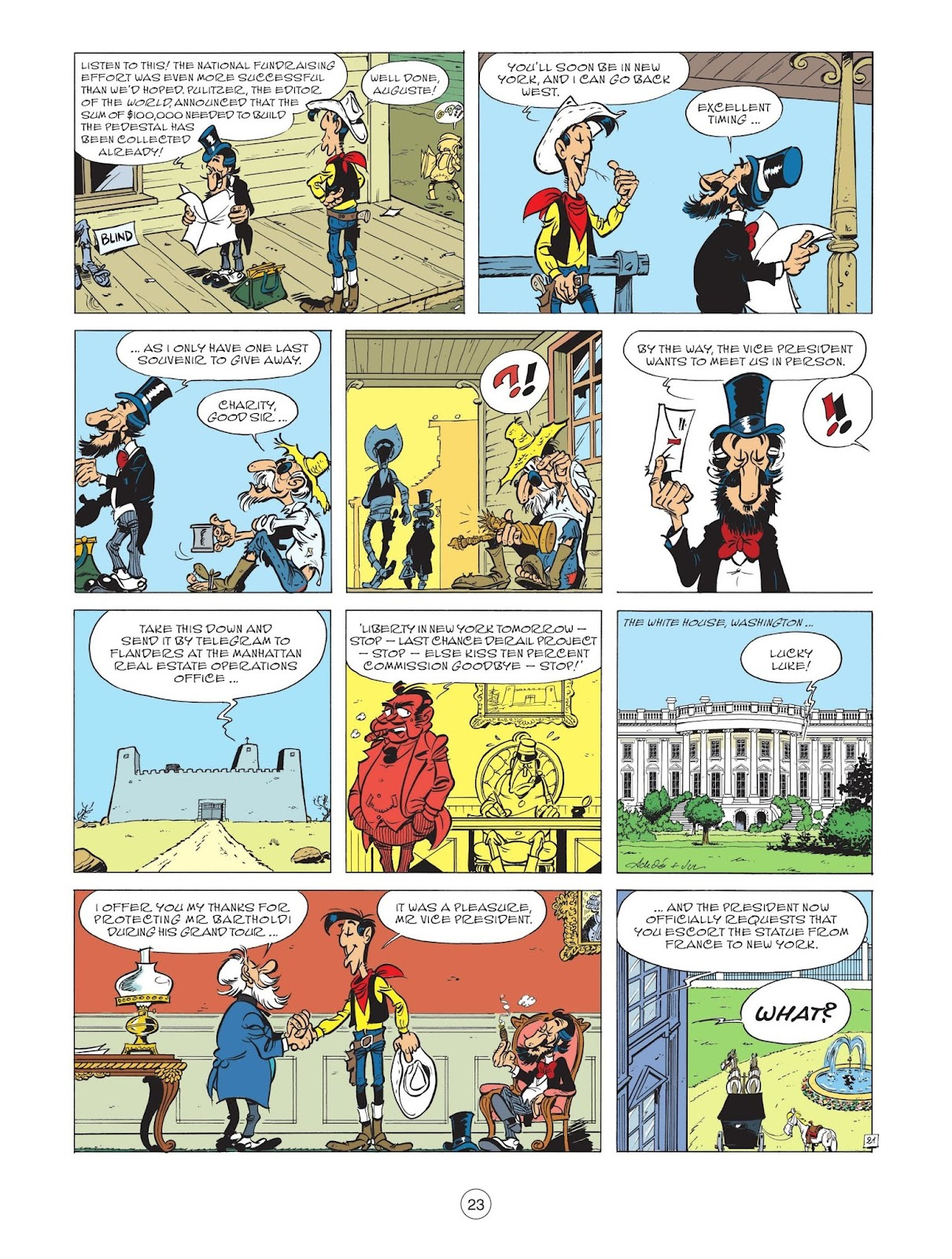 A Lucky Luke Adventure issue 71 - Page 25