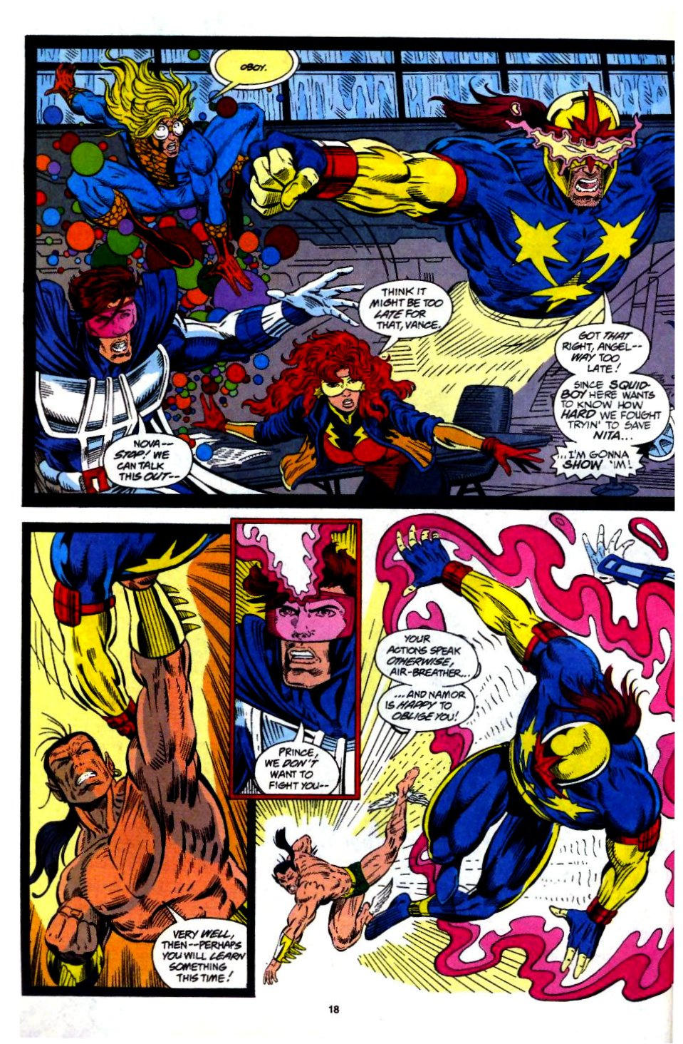 The New Warriors Issue #57 #61 - English 15
