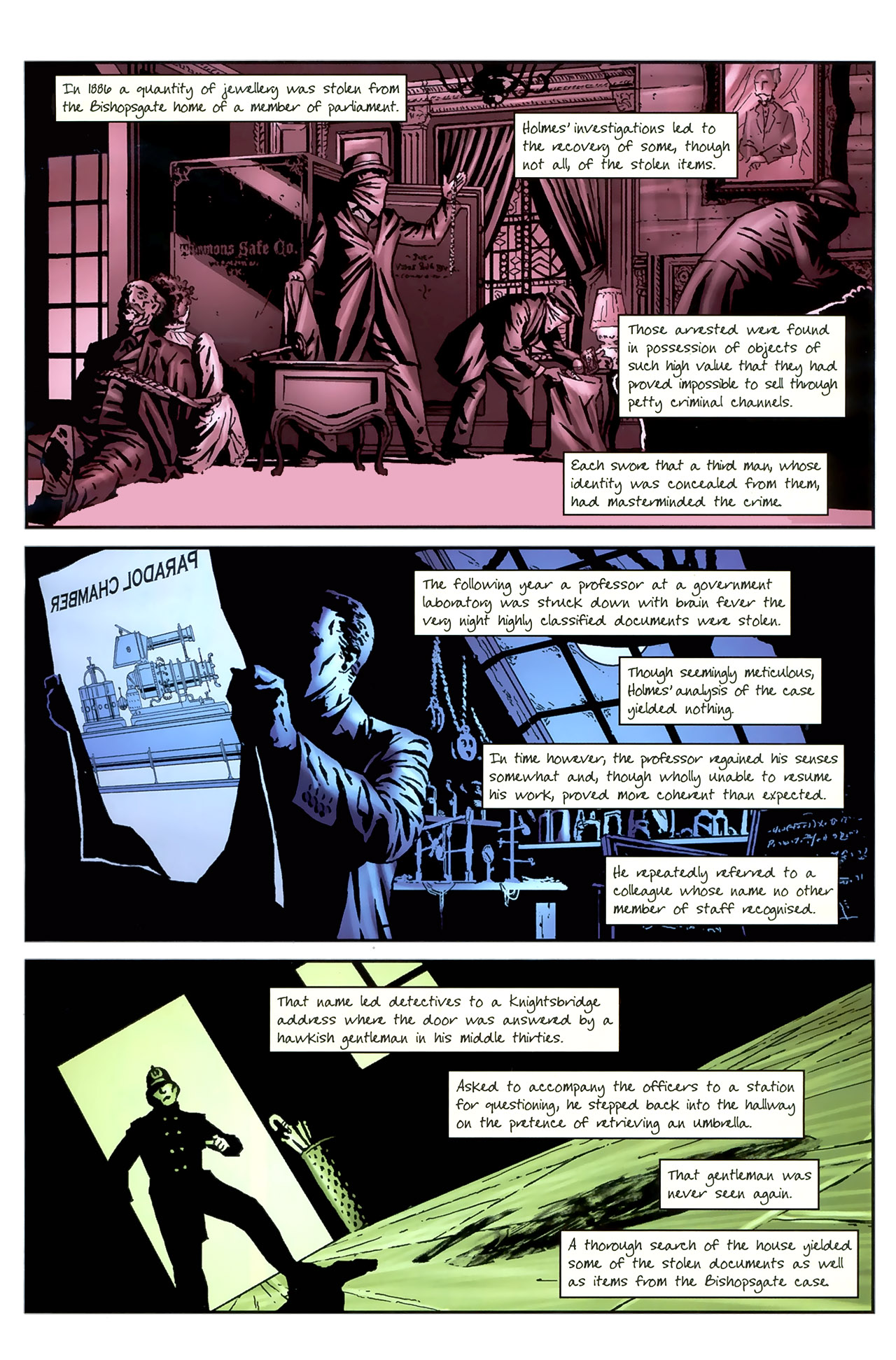 Read online Sherlock Holmes (2009) comic -  Issue #4 - 3