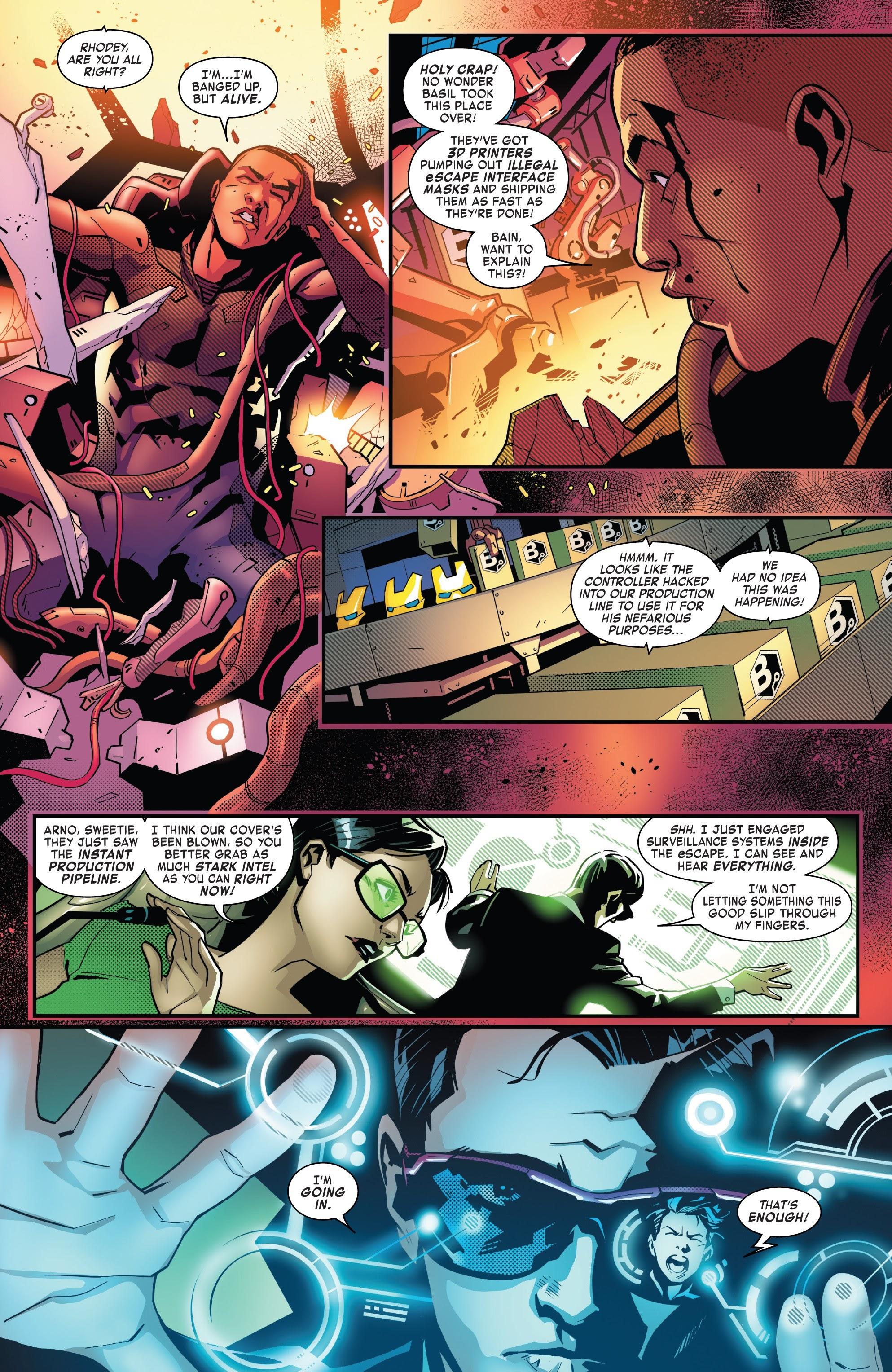 Read online Tony Stark: Iron Man comic -  Issue #10 - 14