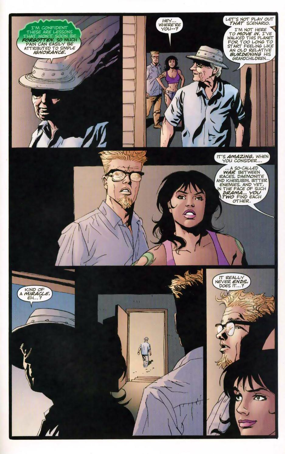 Wildcats (1999) Issue #28 #29 - English 22
