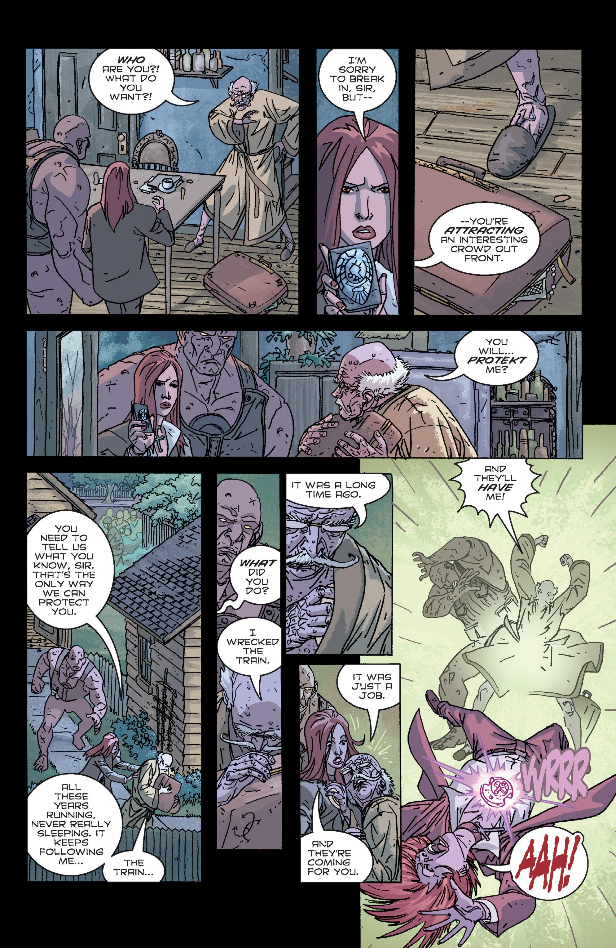 Read online B.P.R.D. (2003) comic -  Issue # TPB 2 - 74