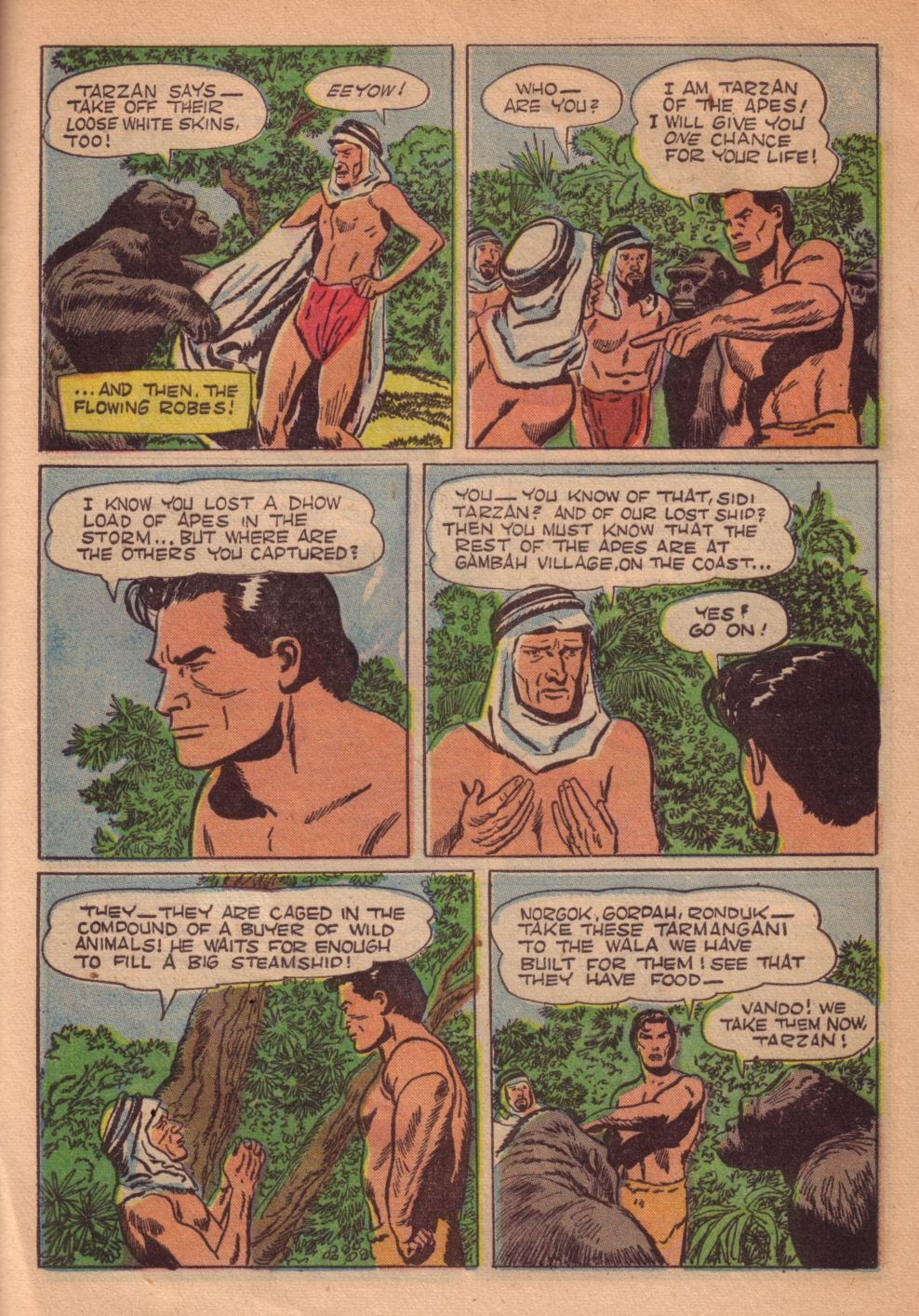Tarzan (1948) issue 55 - Page 37