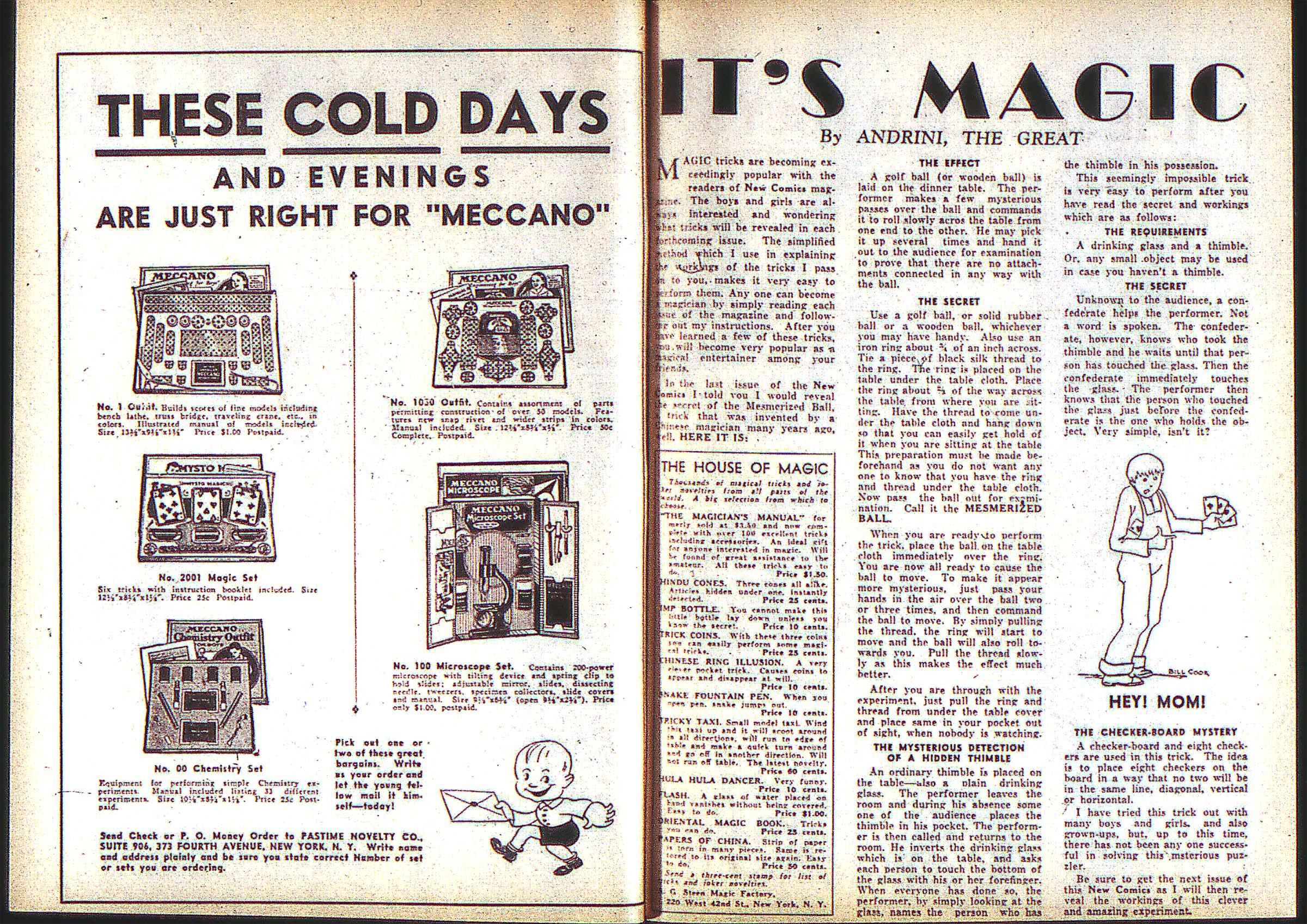 Read online Adventure Comics (1938) comic -  Issue #2 - 14