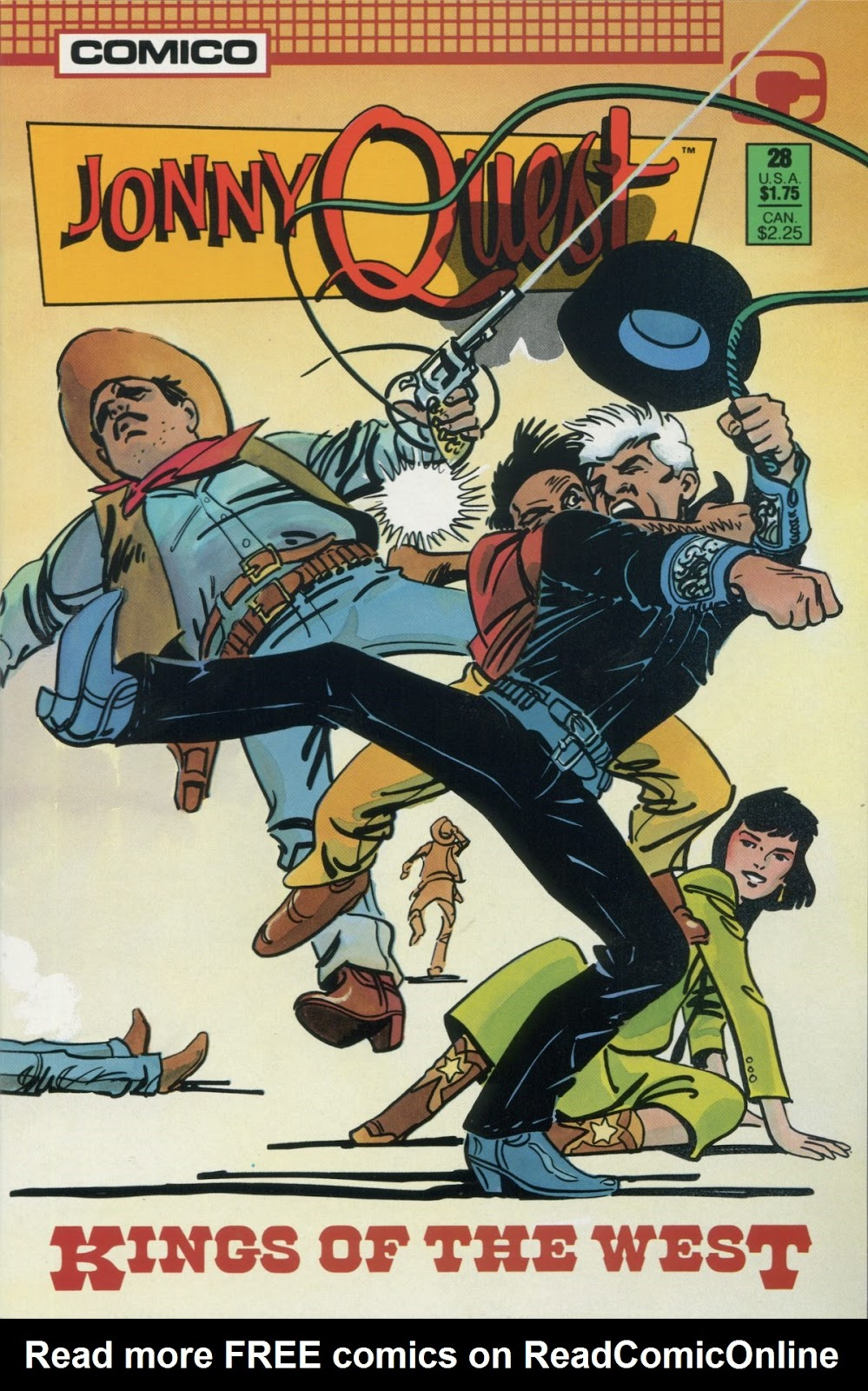 Jonny Quest (1986) issue 28 - Page 1