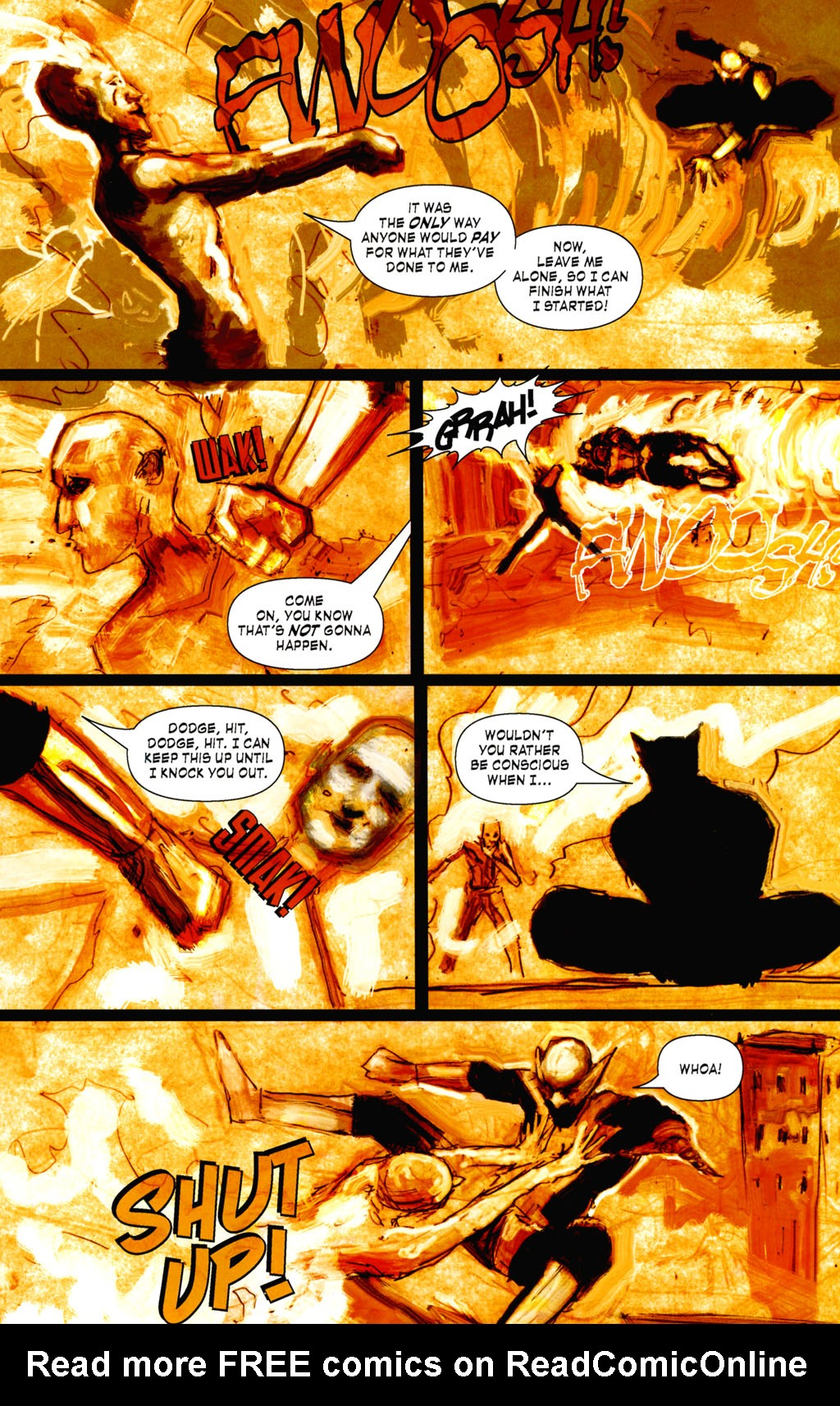 Read online ShadowHawk (2005) comic -  Issue #8 - 17