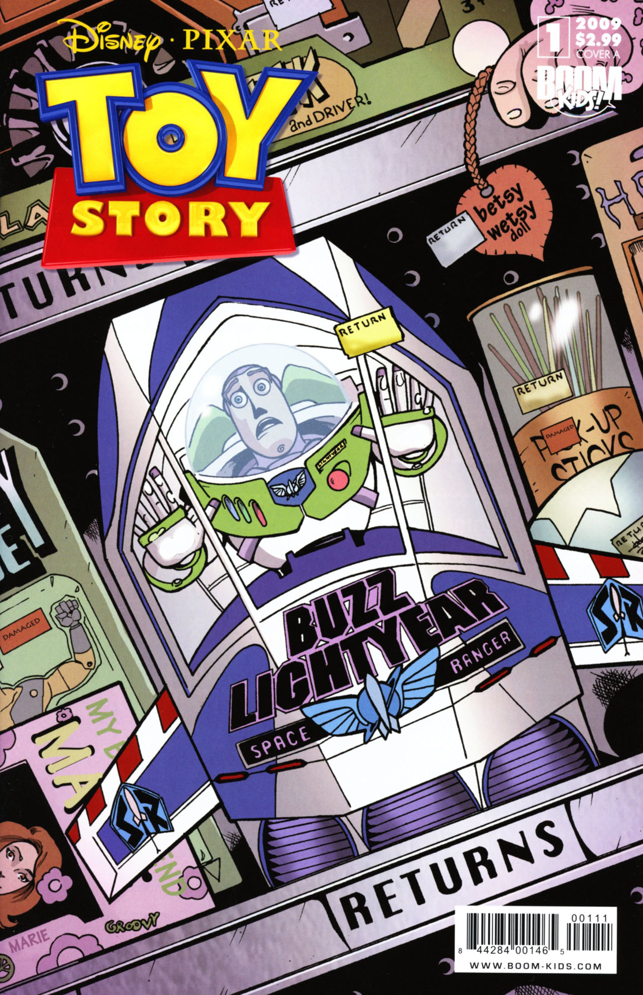 Read online Toy Story (2009) comic -  Issue #1 - 1