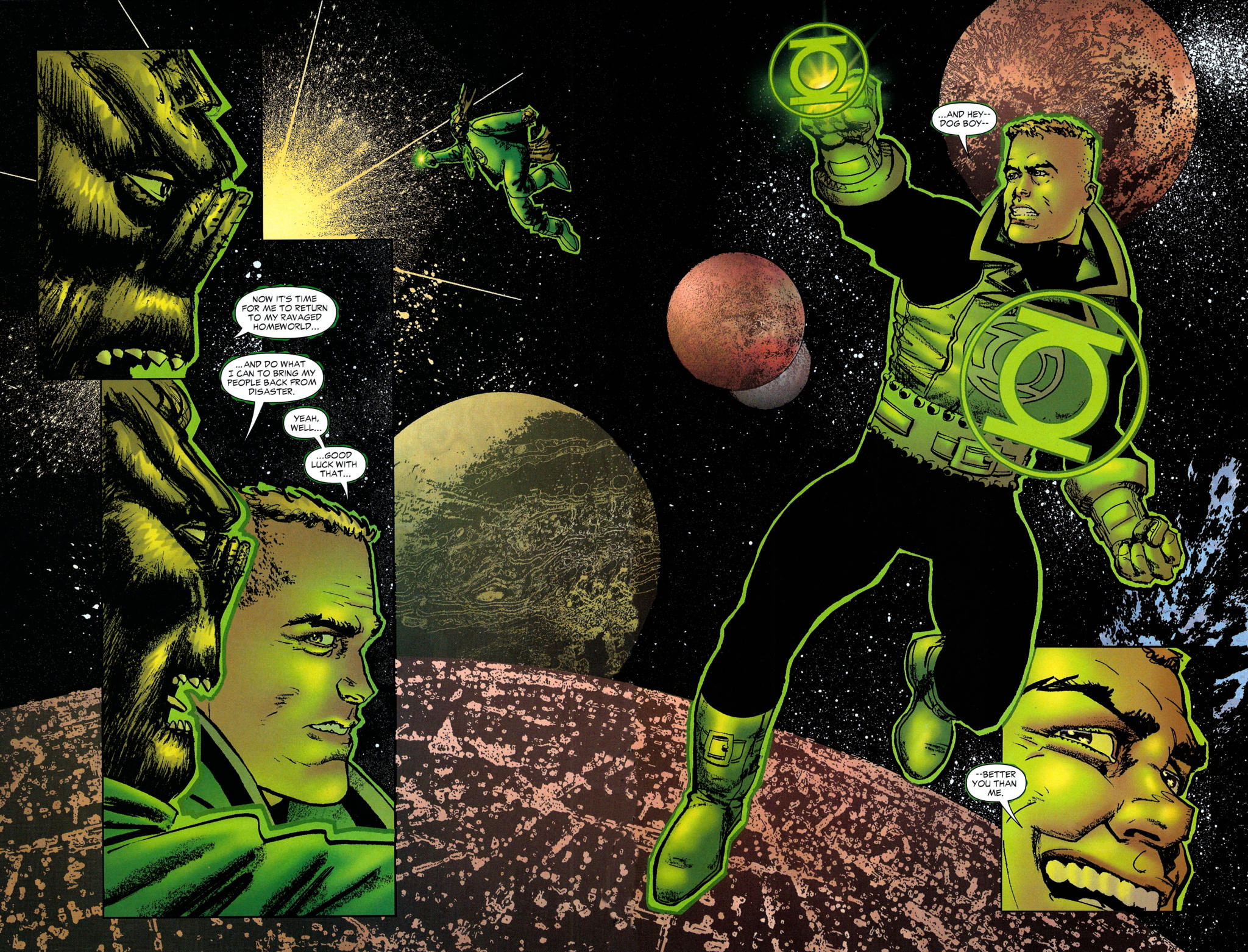 Read online Guy Gardner: Collateral Damage comic -  Issue #2 - 42