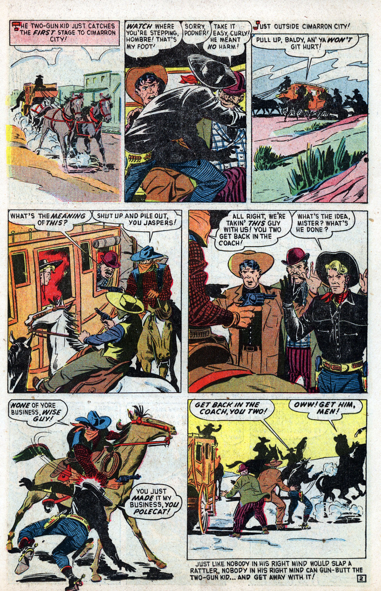 Read online Two-Gun Kid comic -  Issue #3 - 23