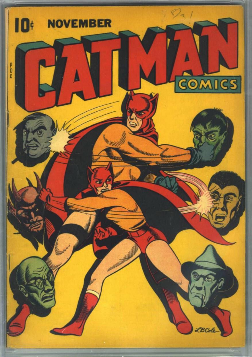 Cat-Man Comics 26 Page 1