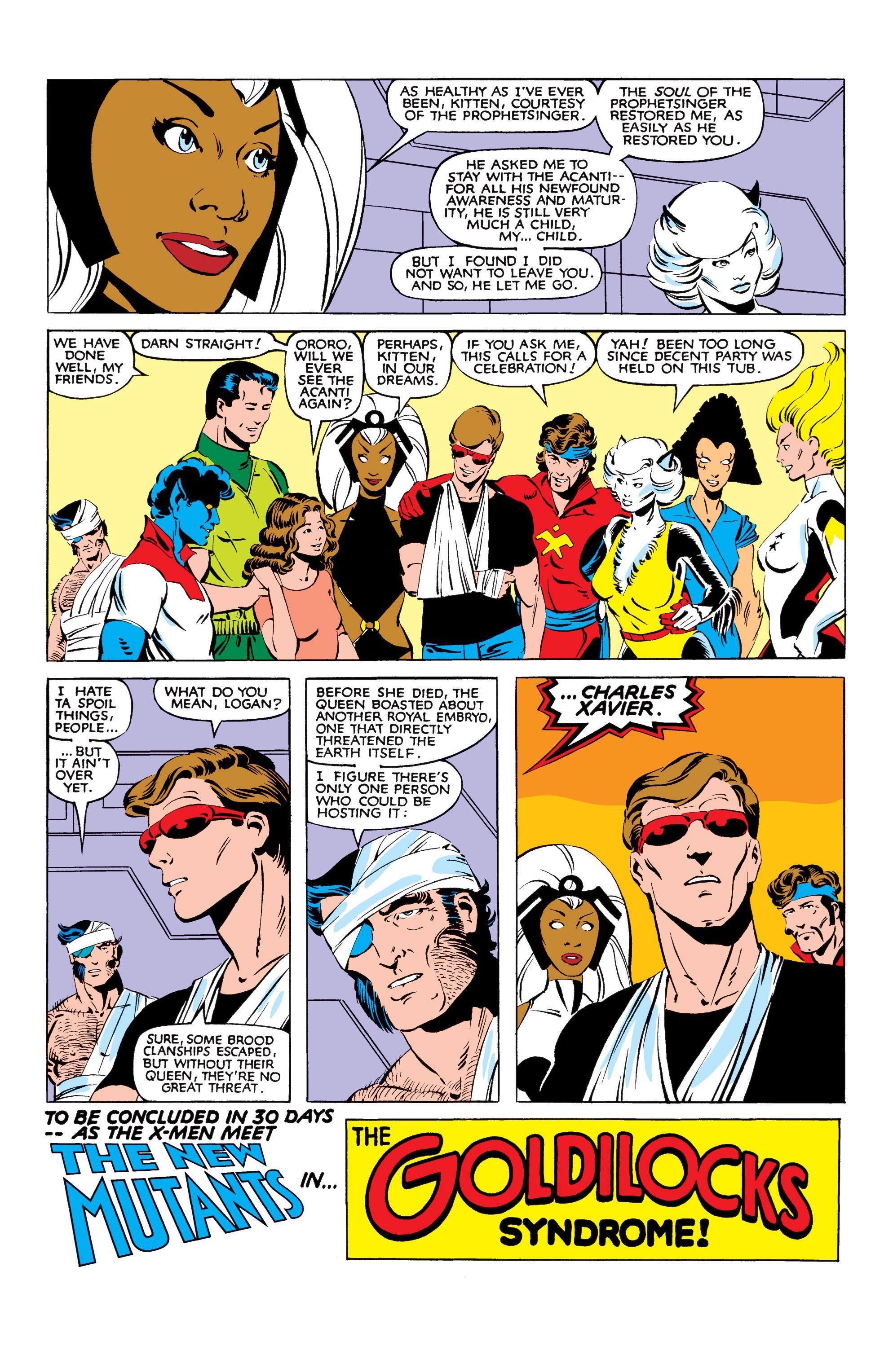 Read online Uncanny X-Men (1963) comic -  Issue #166 - 39