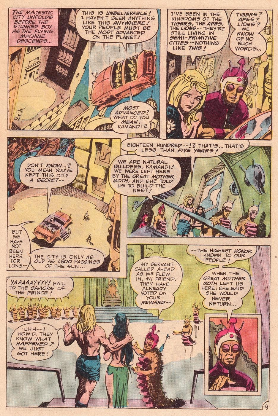 Kamandi, The Last Boy On Earth issue 54 - Page 11