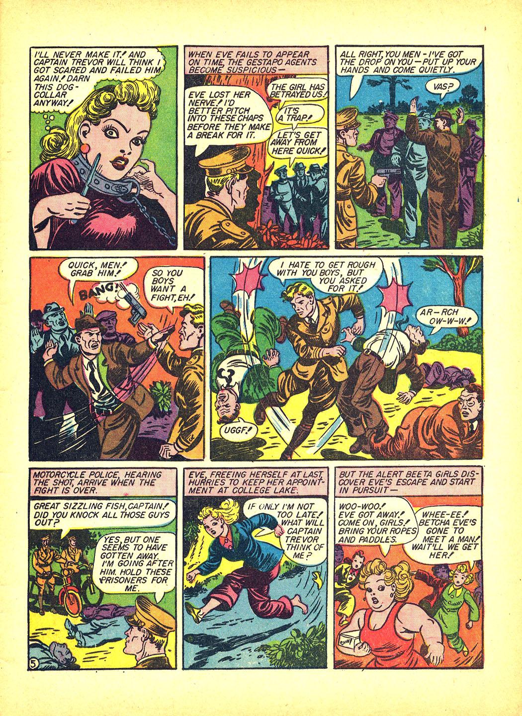 Read online Sensation (Mystery) Comics comic -  Issue #4 - 7