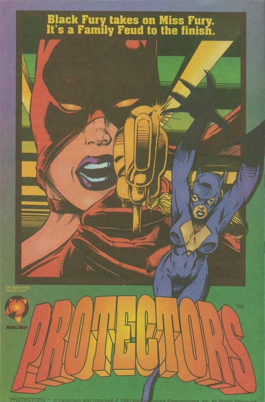 Read online Ex-Mutants comic -  Issue #10 - 11
