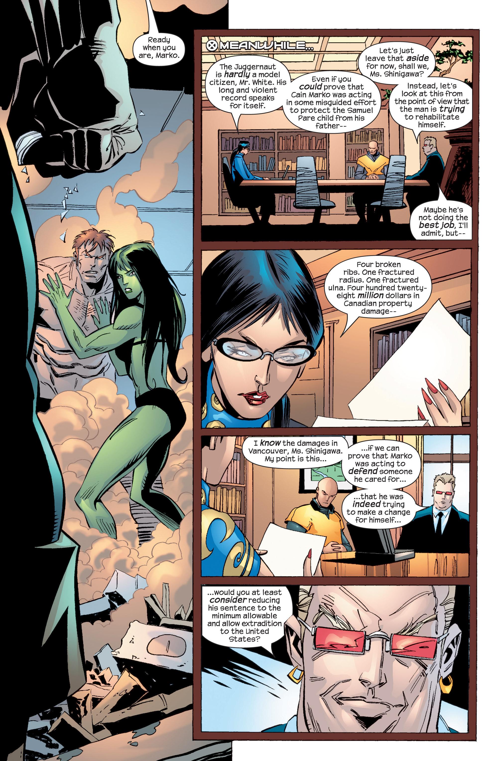 Read online Uncanny X-Men (1963) comic -  Issue #436 - 10