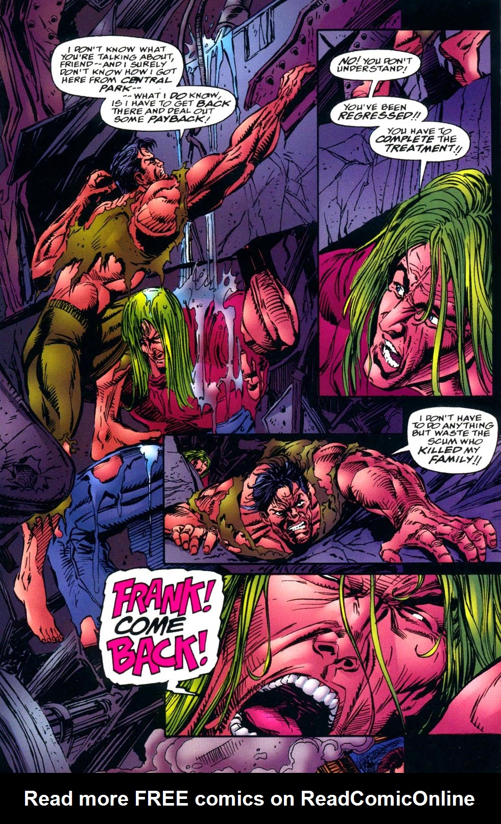 Read online Double Edge comic -  Issue # Issue Alpha - 29