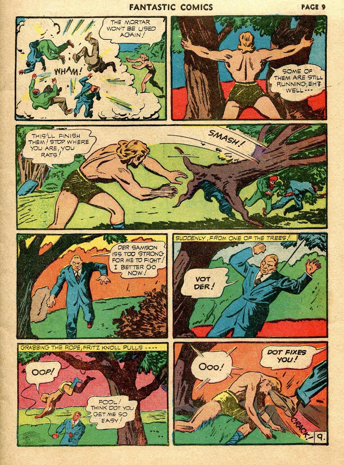 Read online Fantastic Comics comic -  Issue #21 - 11
