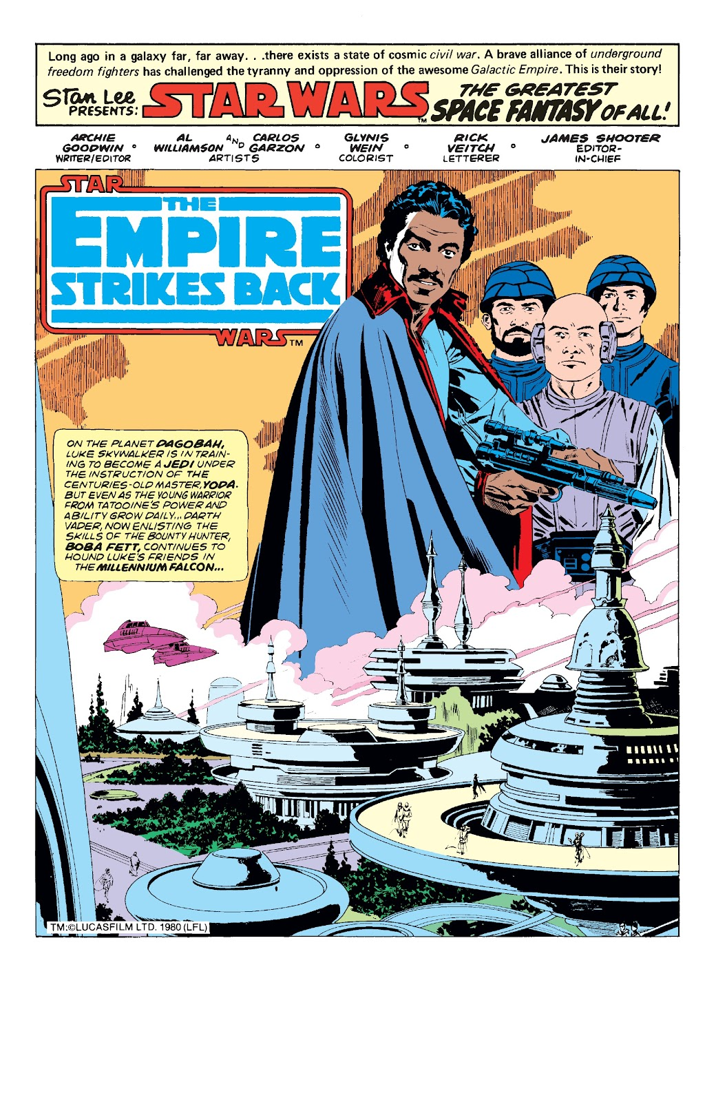 Read online Star Wars Legends: The Original Marvel Years - Epic Collection comic -  Issue # TPB 3 (Part 1) - 79